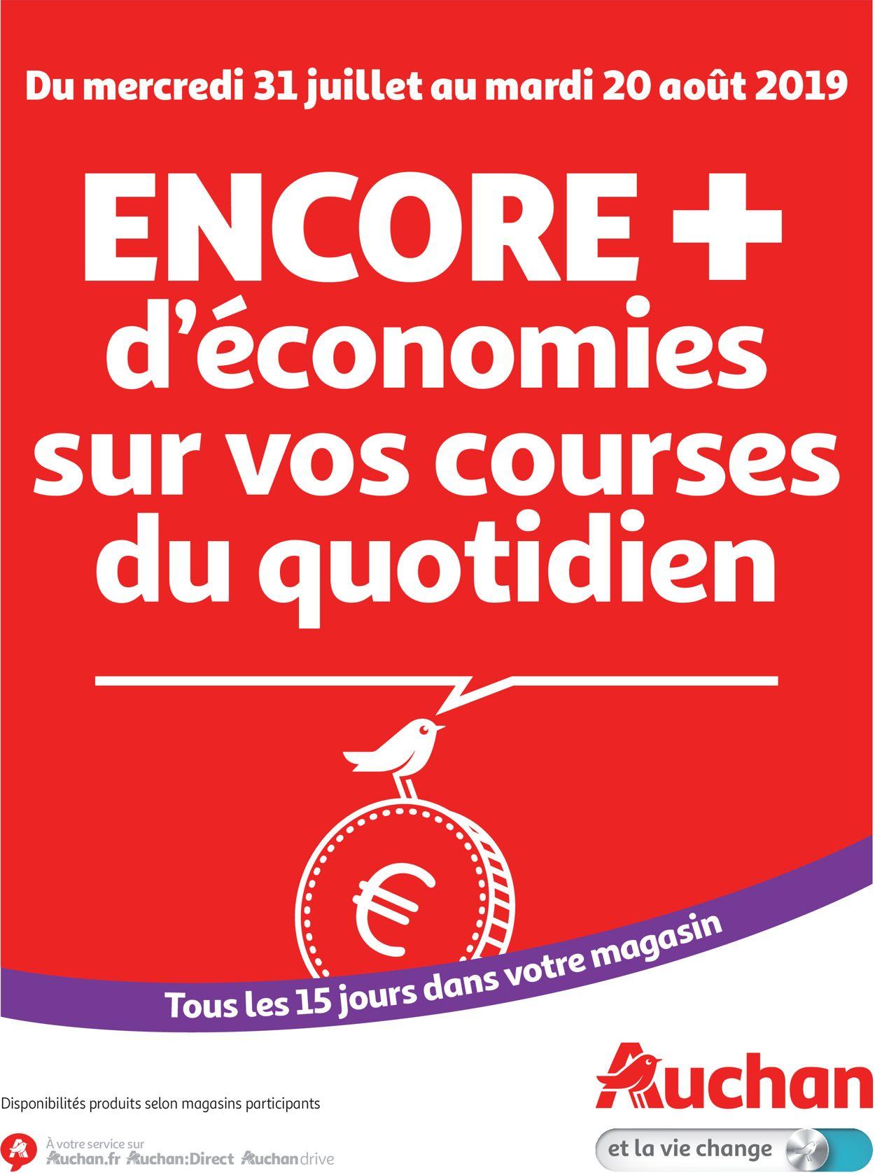 Auchan Catalogue - 31.07-20.08.2019