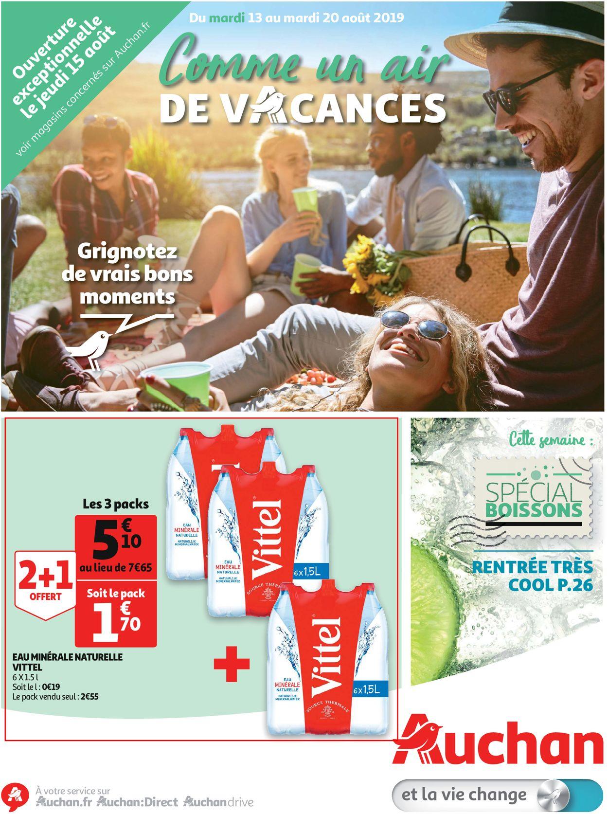 Auchan Catalogue - 13.08-20.08.2019