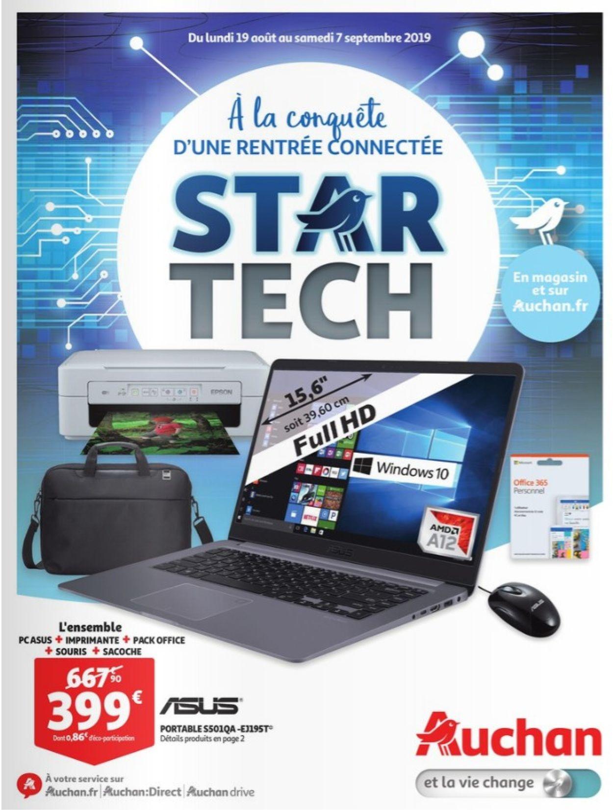 Auchan Catalogue - 19.08-07.09.2019