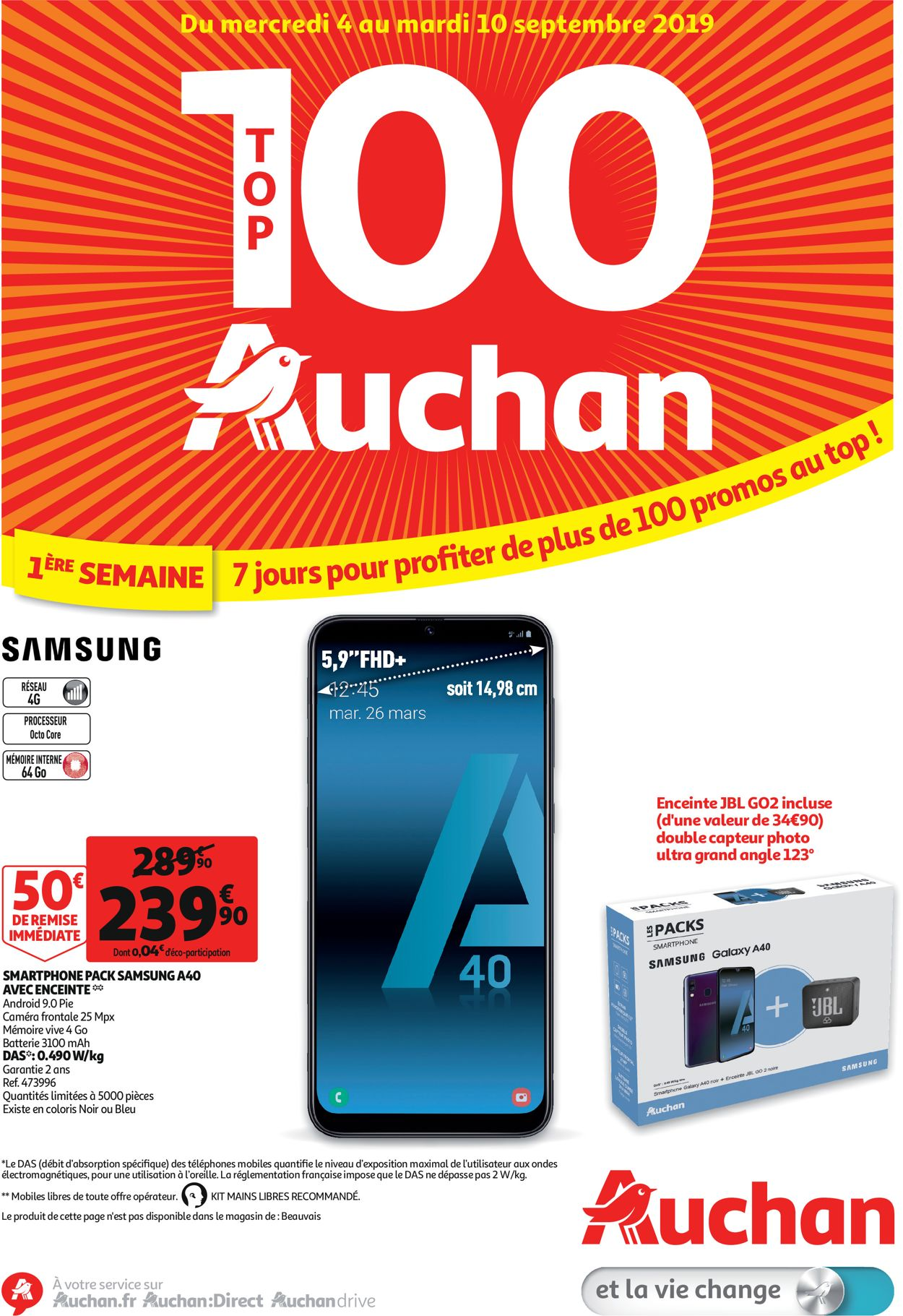 Auchan Catalogue - 04.09-10.09.2019