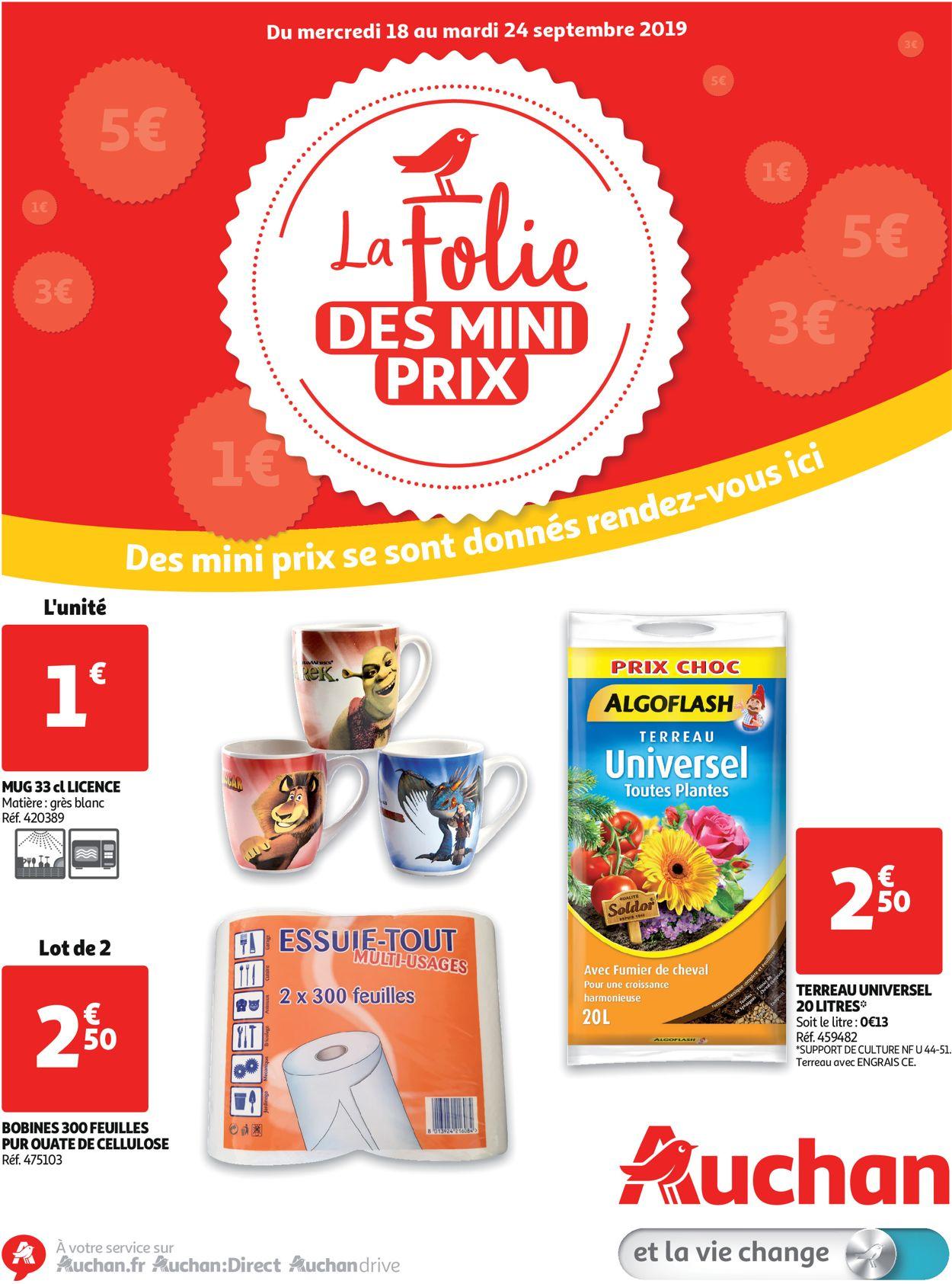 Auchan Catalogue - 18.09-24.09.2019