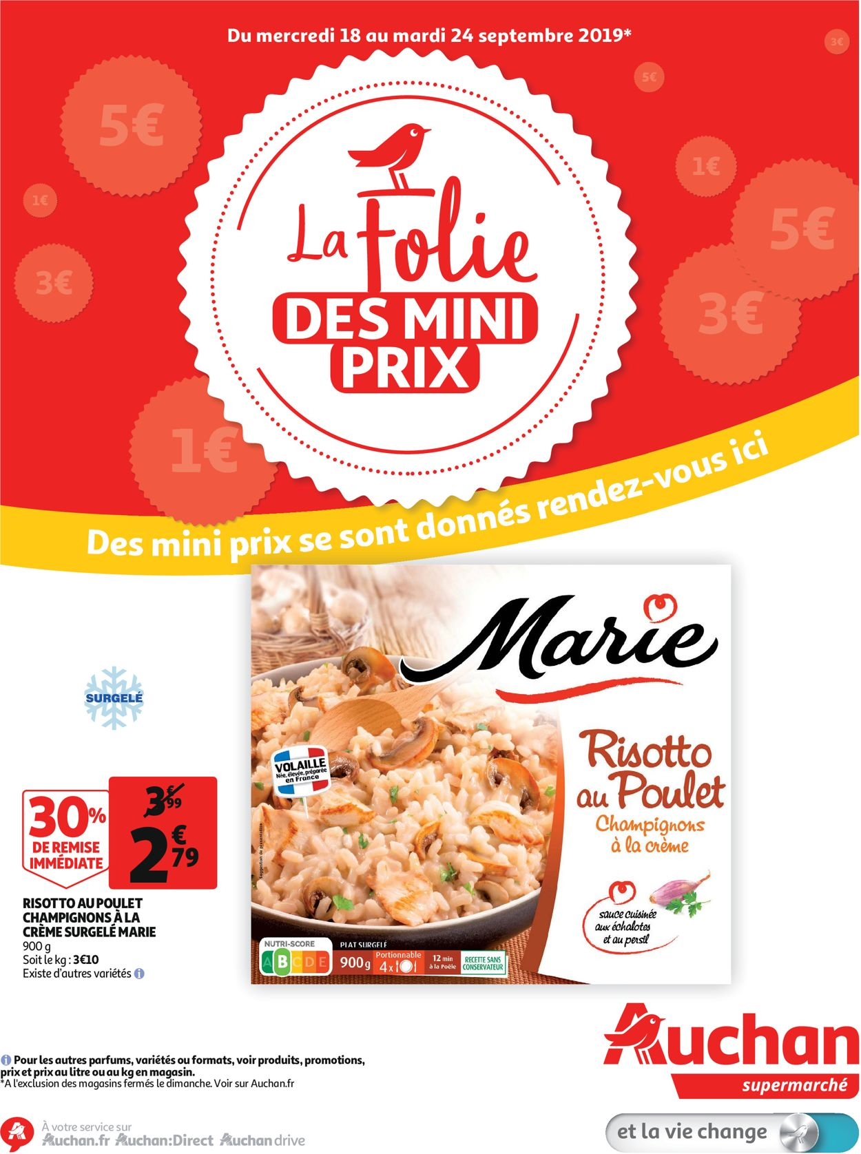 Auchan Catalogue - 18.09-24.09.2019