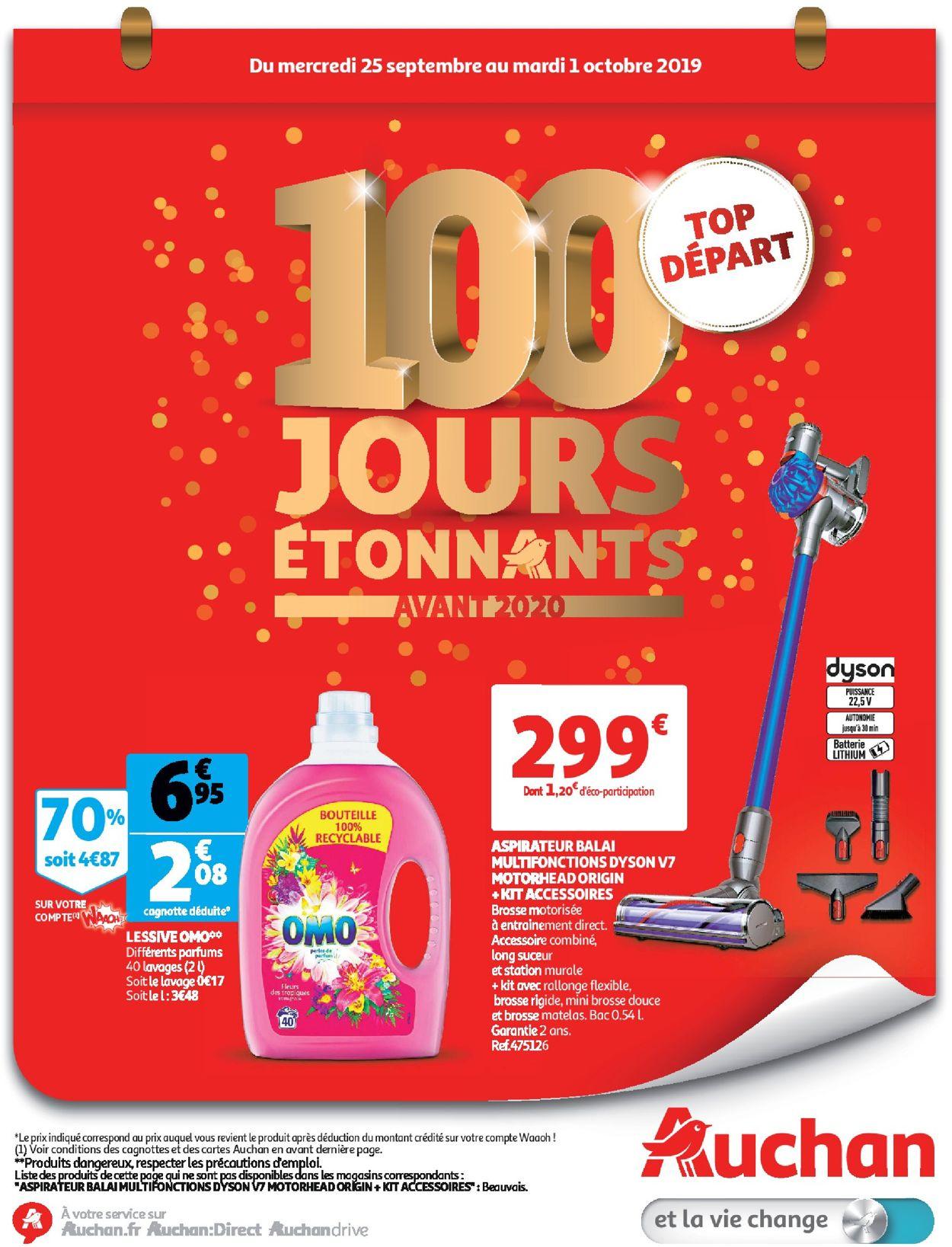 Auchan Catalogue - 25.09-01.10.2019