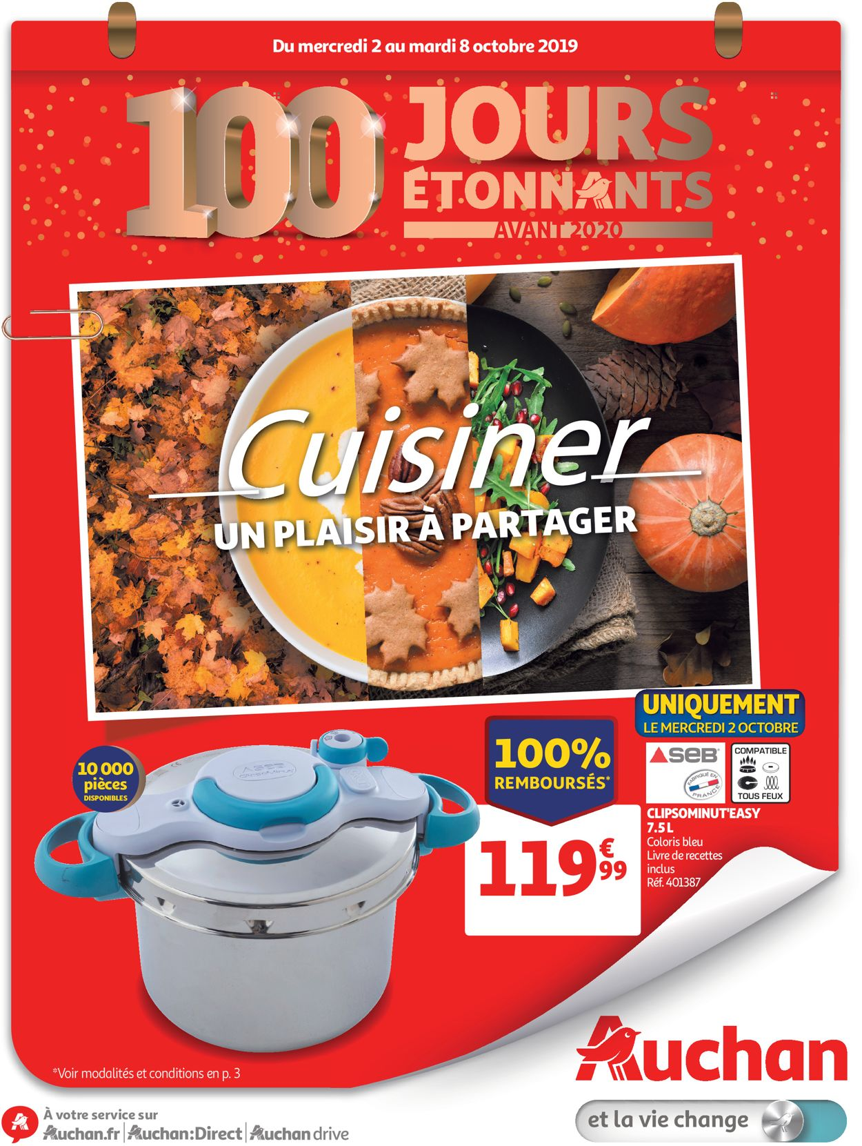 Auchan Catalogue - 02.10-08.10.2019