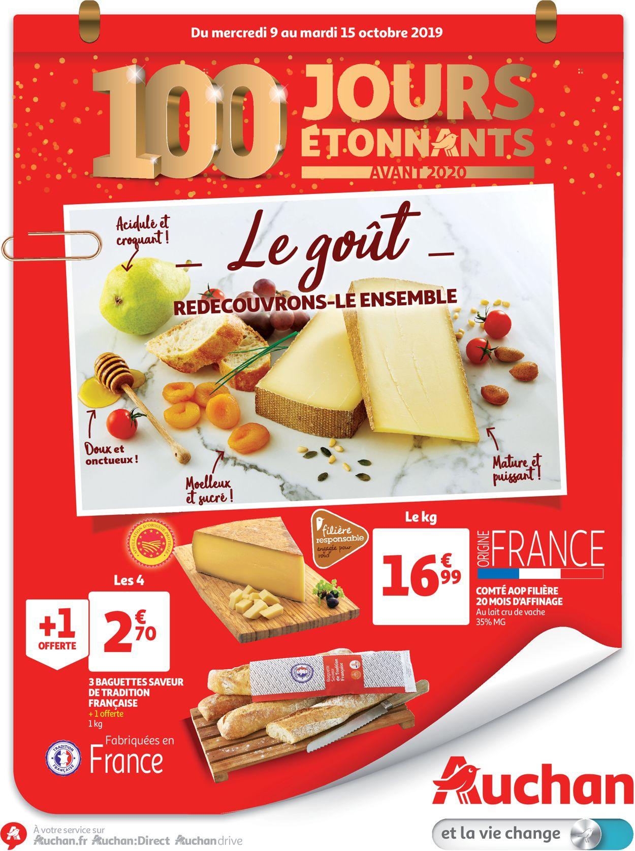 Auchan Catalogue - 09.10-15.10.2019