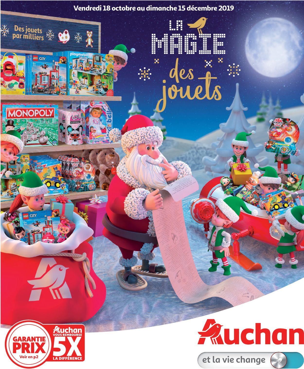 Auchan catalogue de Noël 2019 Catalogue - 18.10-15.12.2019