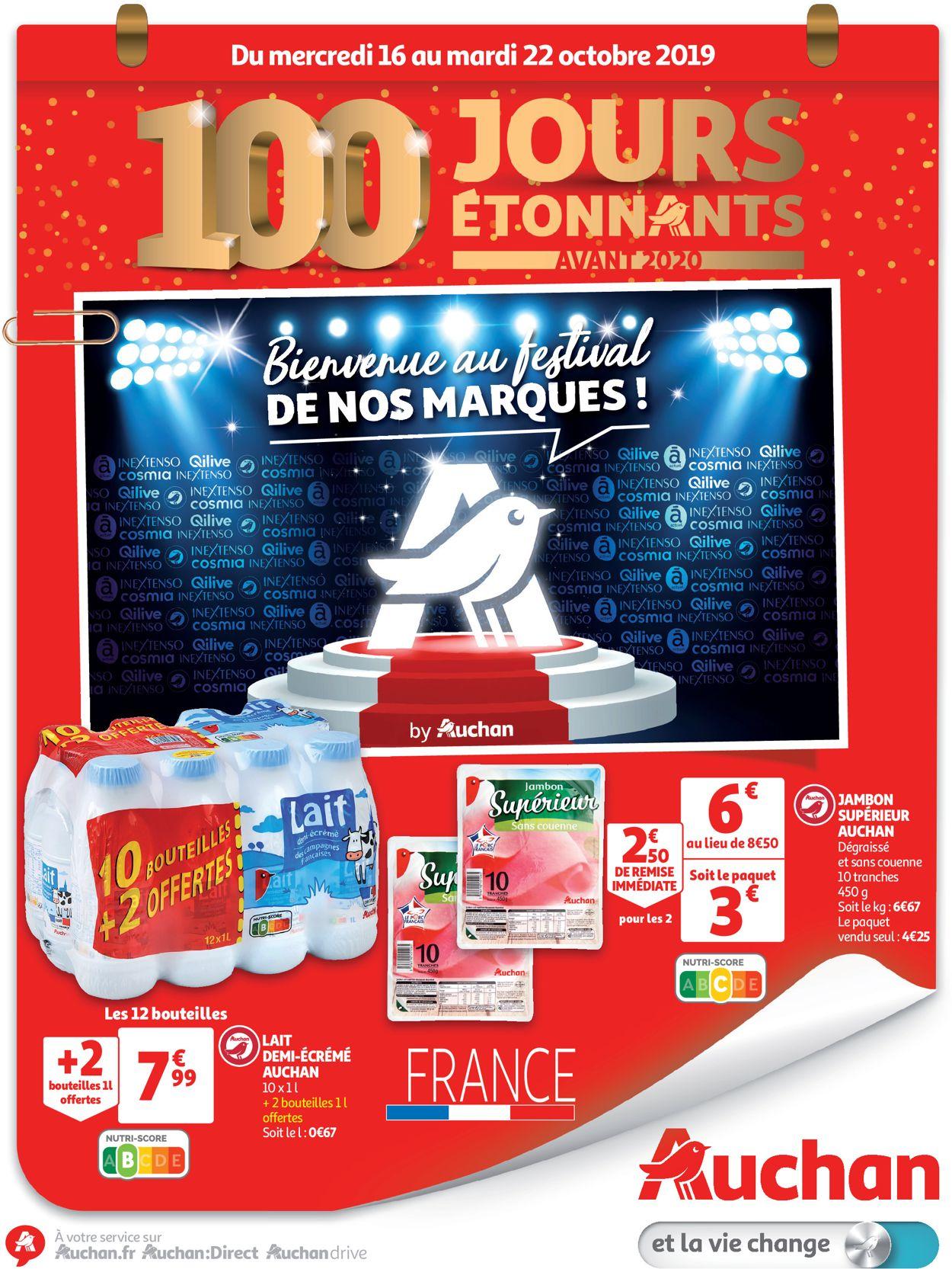 Auchan Catalogue - 16.10-22.10.2019