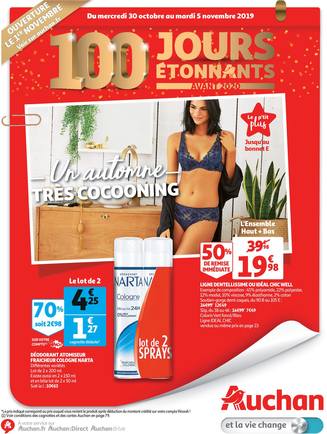 Auchan Catalogue - 30.10-05.11.2019