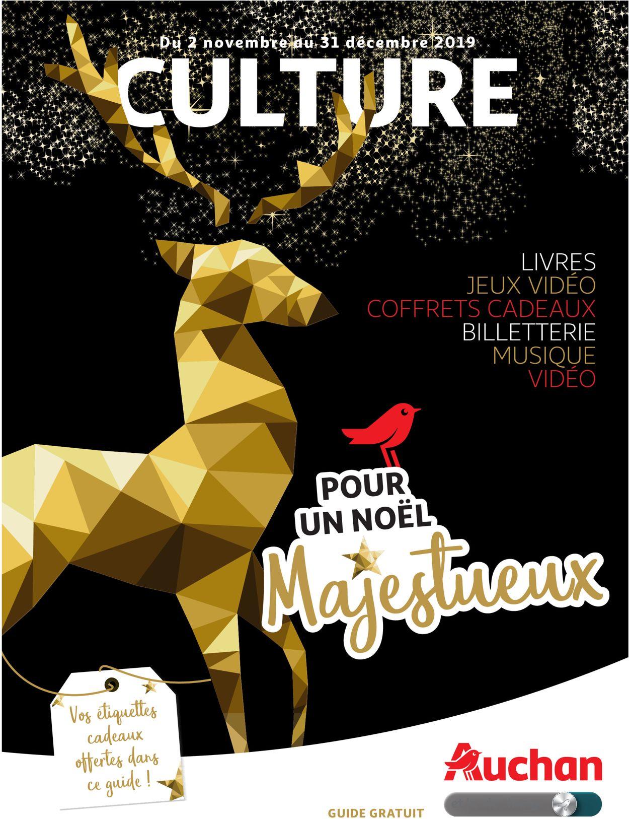 Auchan catalogue de Noël 2019 Catalogue - 02.11-31.12.2019