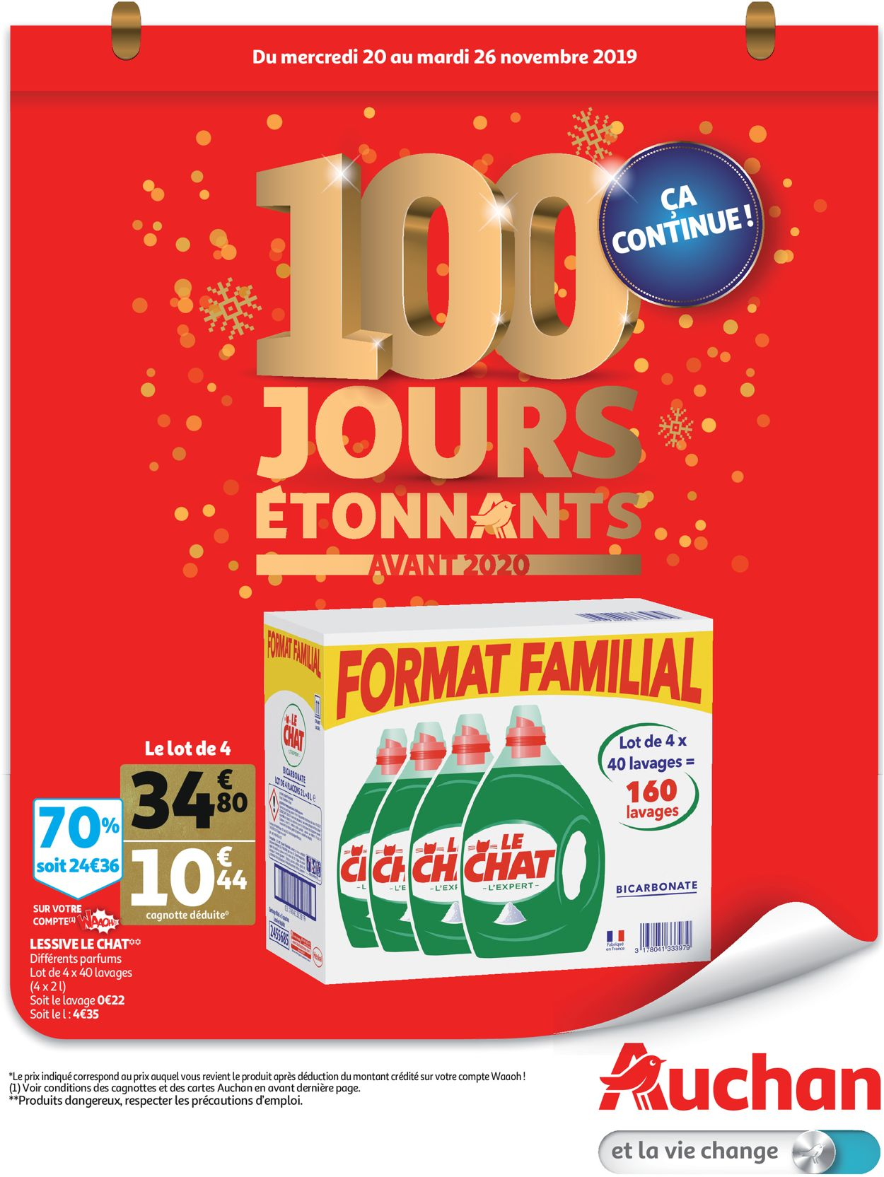 Auchan Catalogue - 20.11-26.11.2019