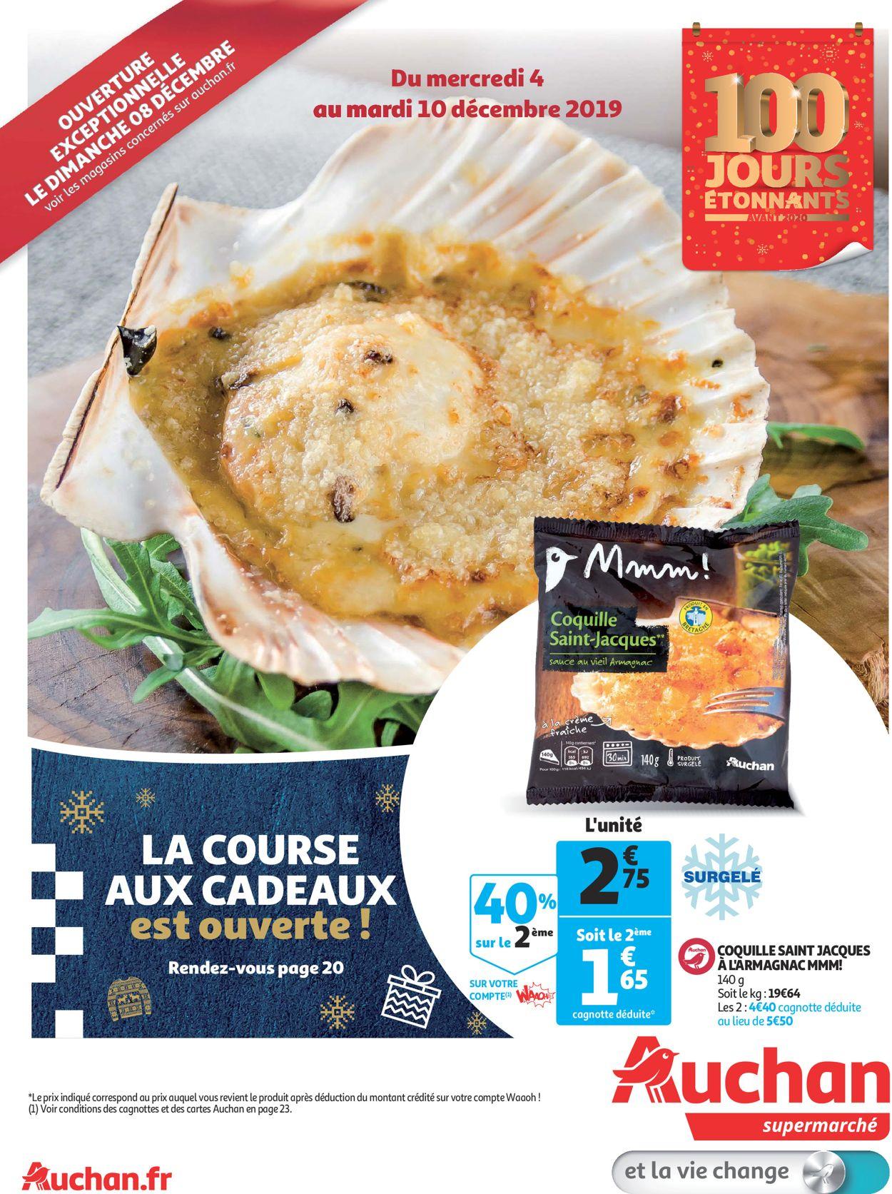 Auchan Catalogue - 04.12-10.12.2019