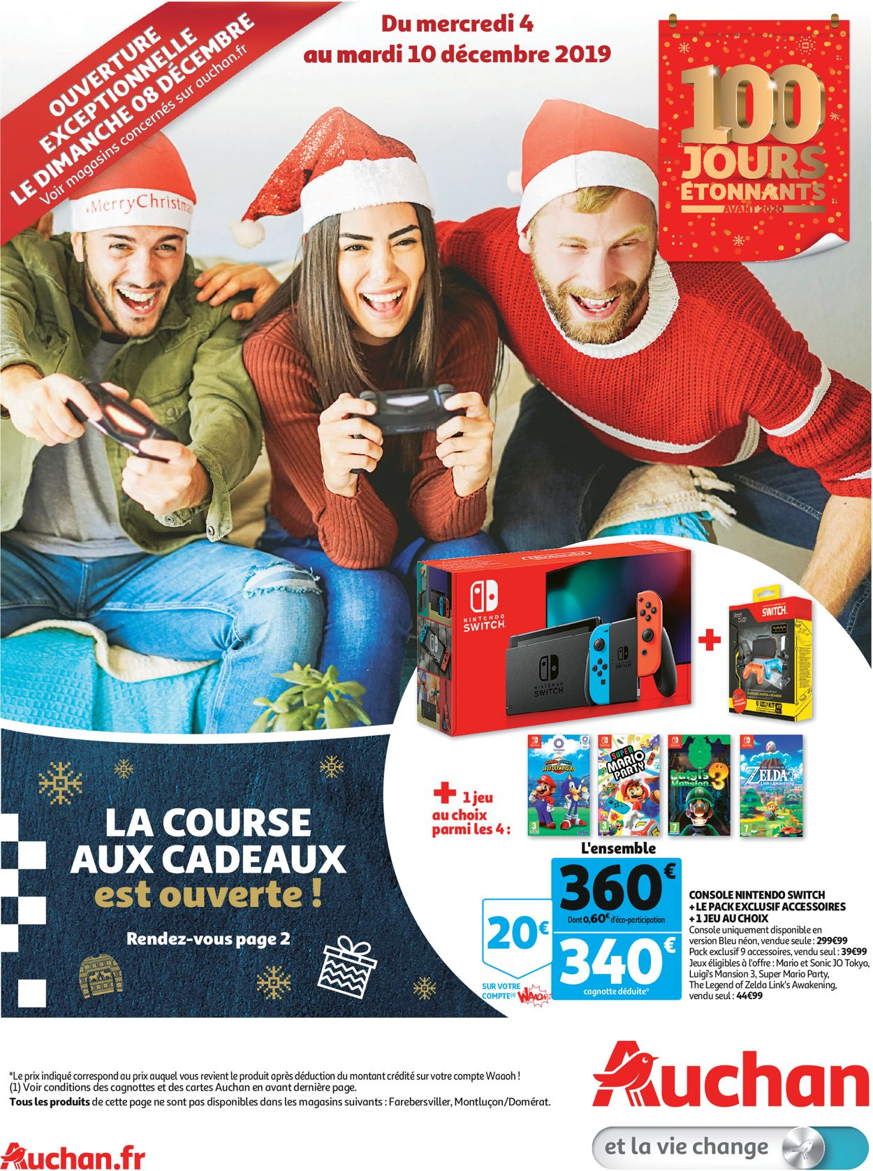 Auchan catalogue de Noël 2019 Catalogue - 04.12-10.12.2019