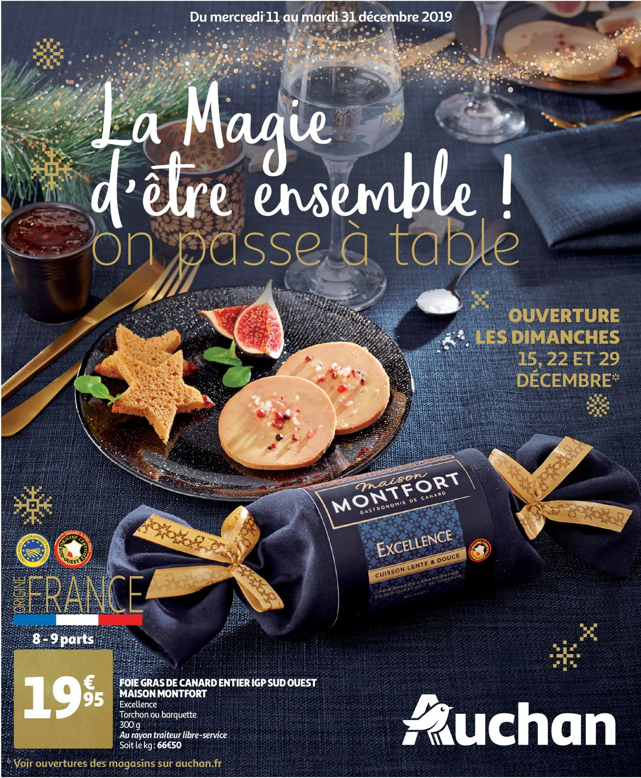 Auchan catalogue de Noël 2019 Catalogue - 11.12-31.12.2019