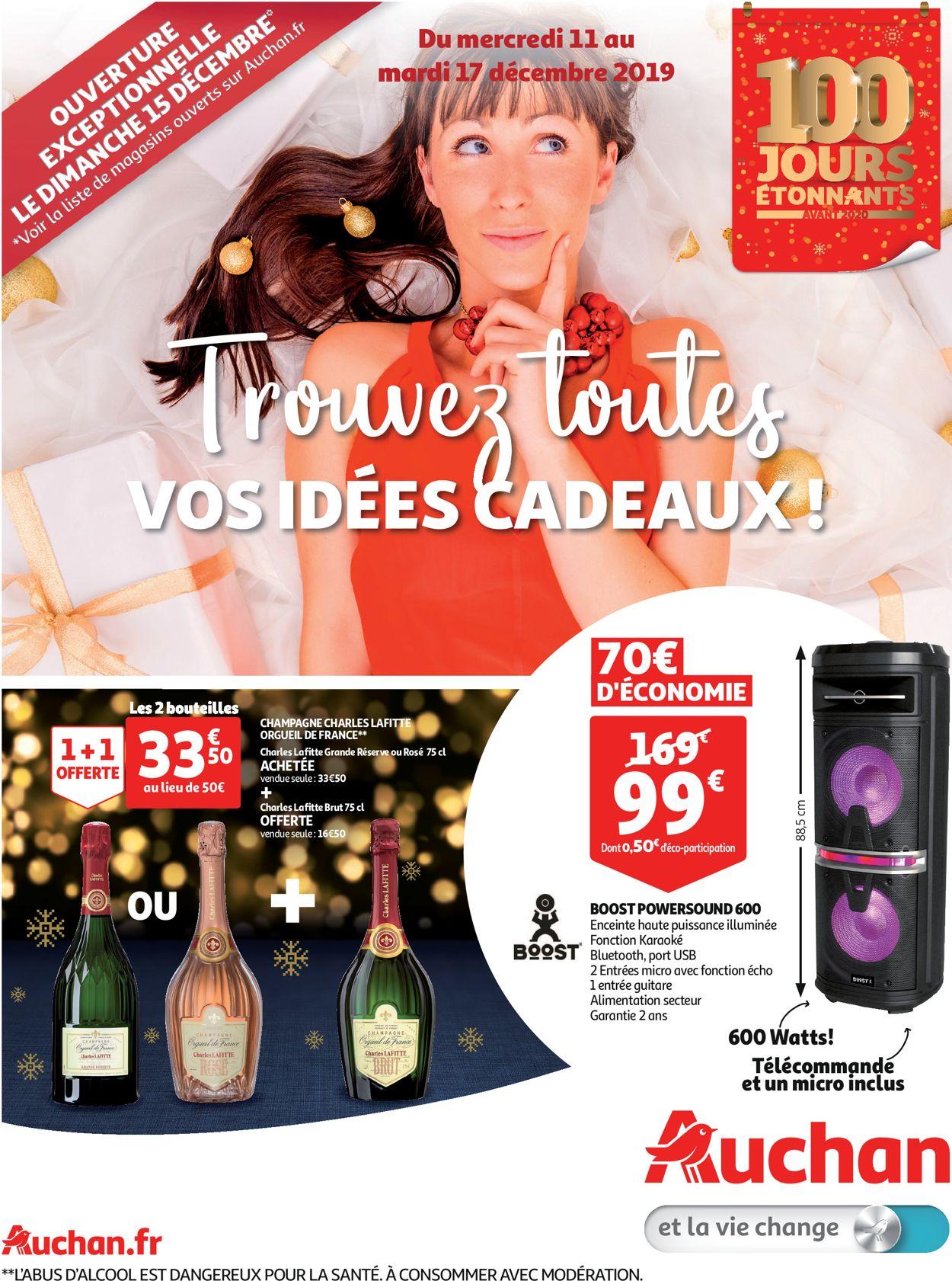 Auchan catalogue de Noël 2019 Catalogue - 11.12-17.12.2019