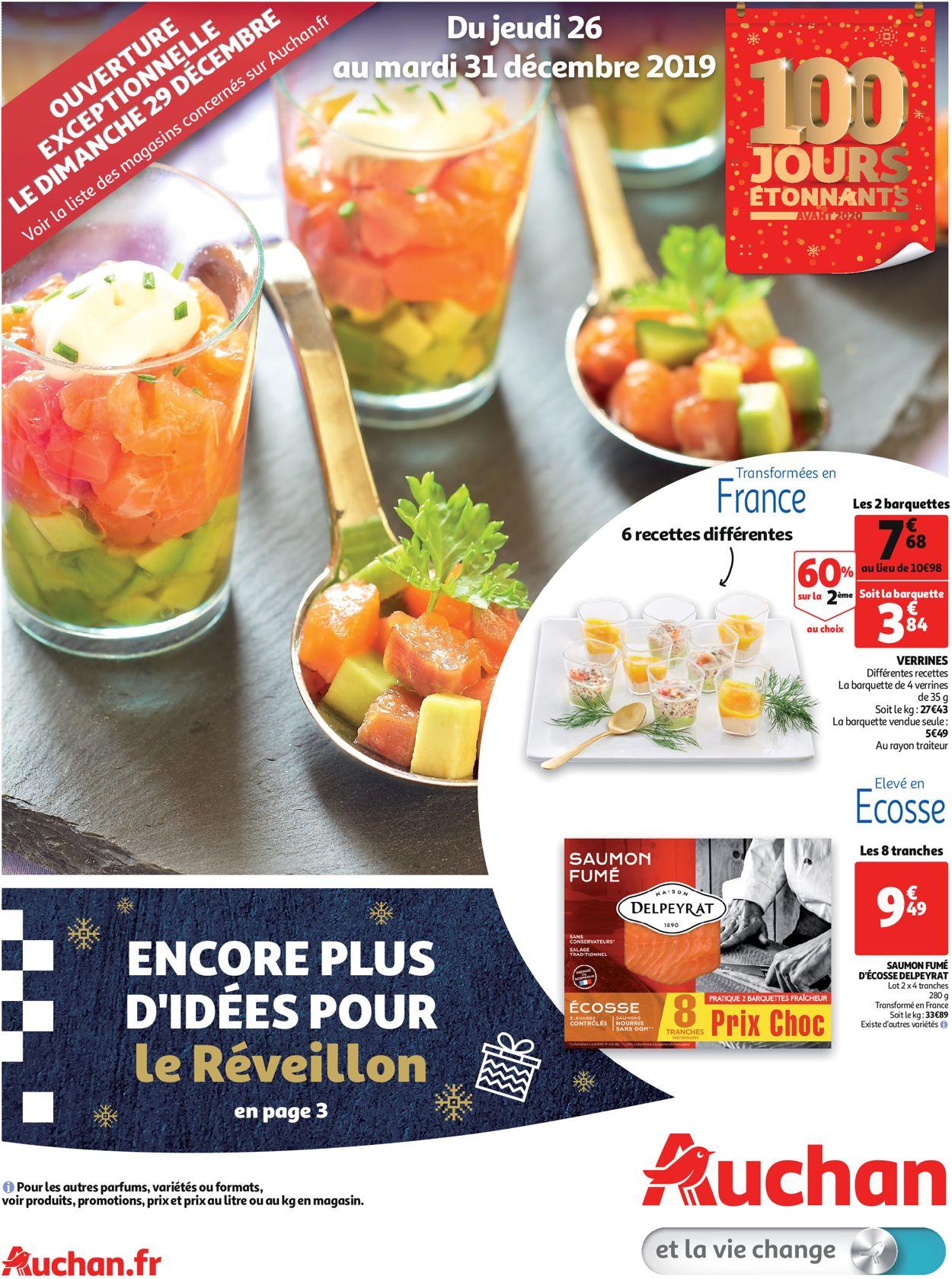 Auchan - Catalogue du Nouvel An Catalogue - 26.12-31.12.2019