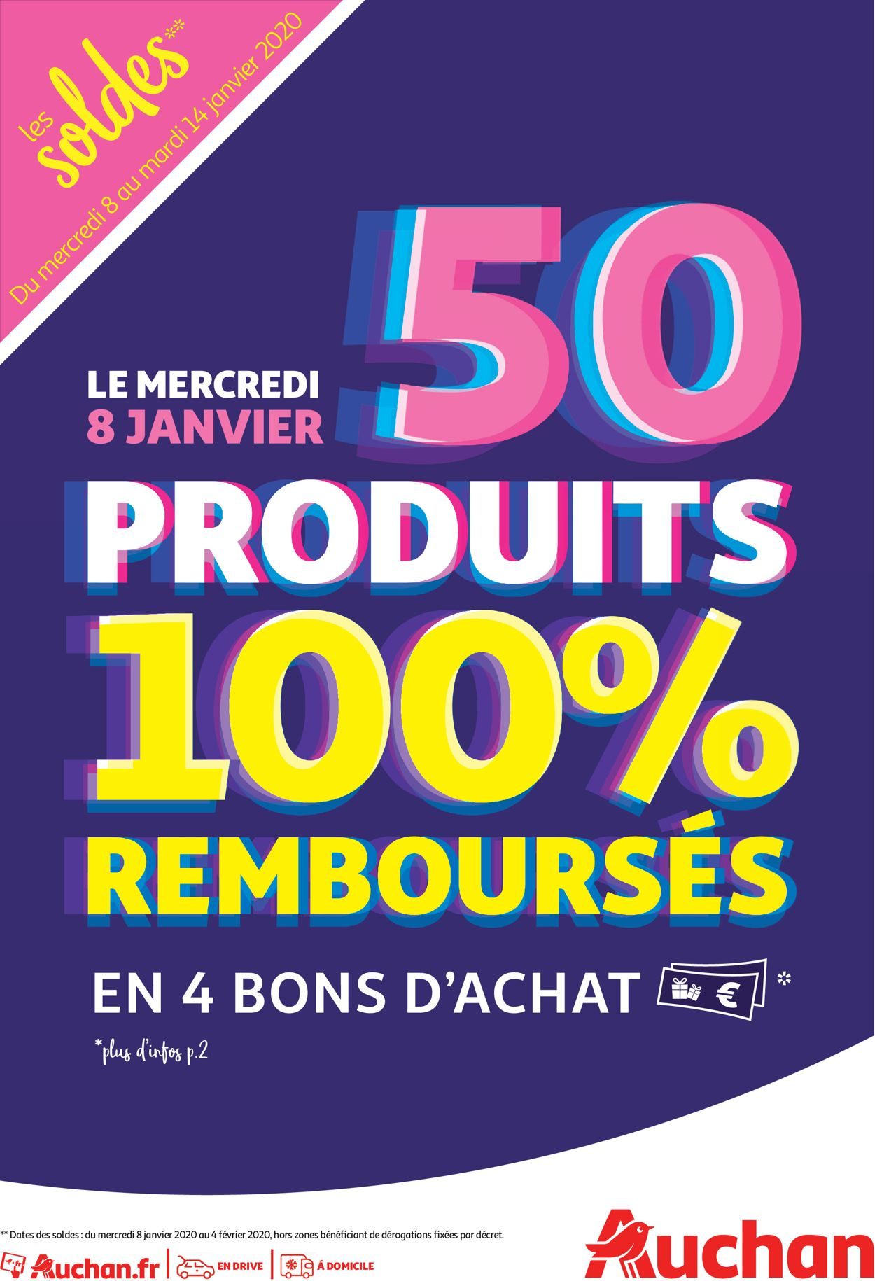Auchan Catalogue - 08.01-14.01.2020