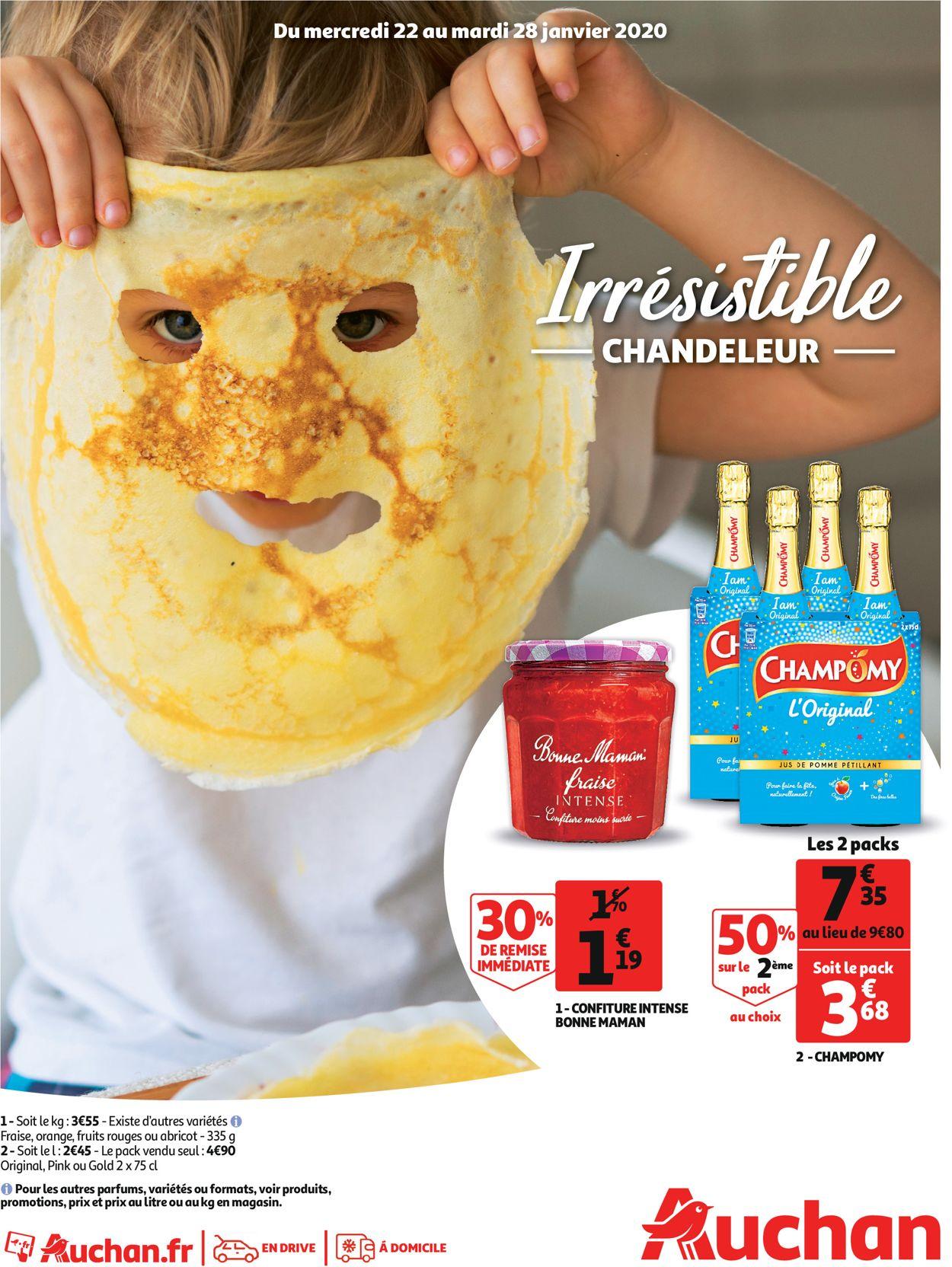 Auchan Catalogue - 22.01-28.01.2020