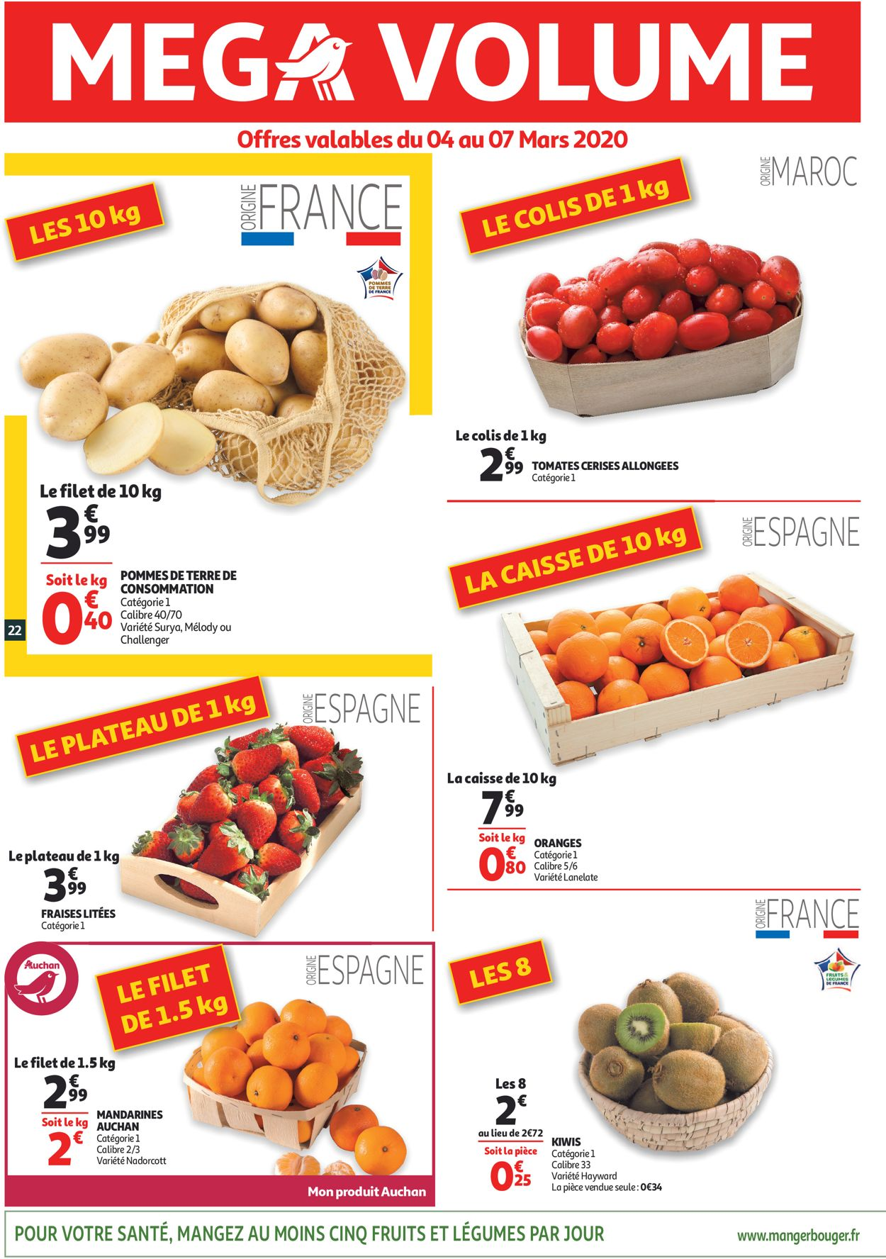 Auchan Catalogue - 04.03-10.03.2020 (Page 22)