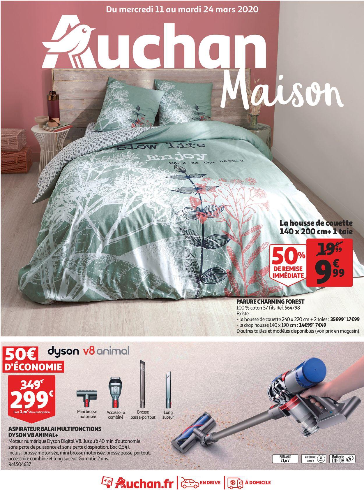 Auchan Catalogue - 11.03-24.03.2020