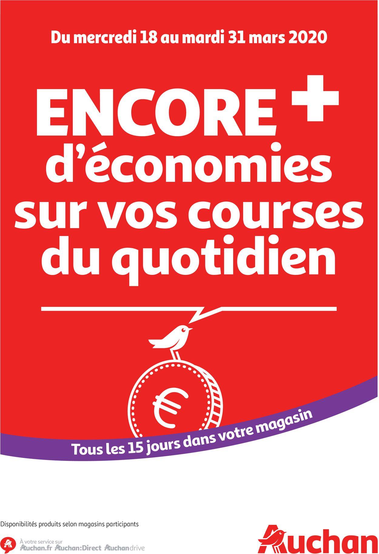 Auchan Catalogue - 18.03-31.03.2020