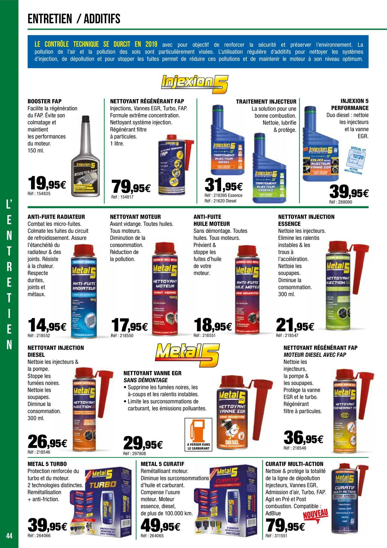Autobacs Catalogue - 15.04-15.06.2020 (Page 44)