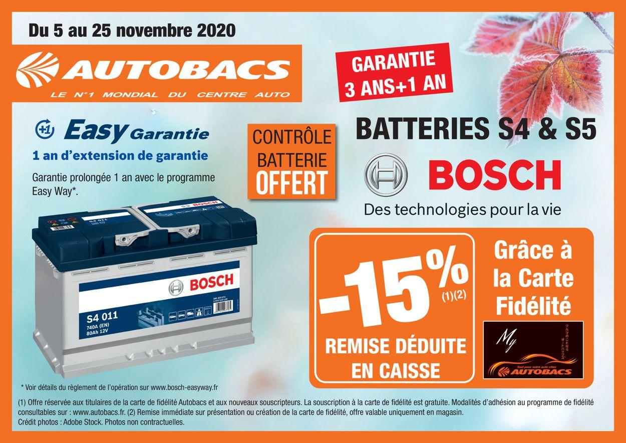 Autobacs Catalogue - 05.11-25.11.2020