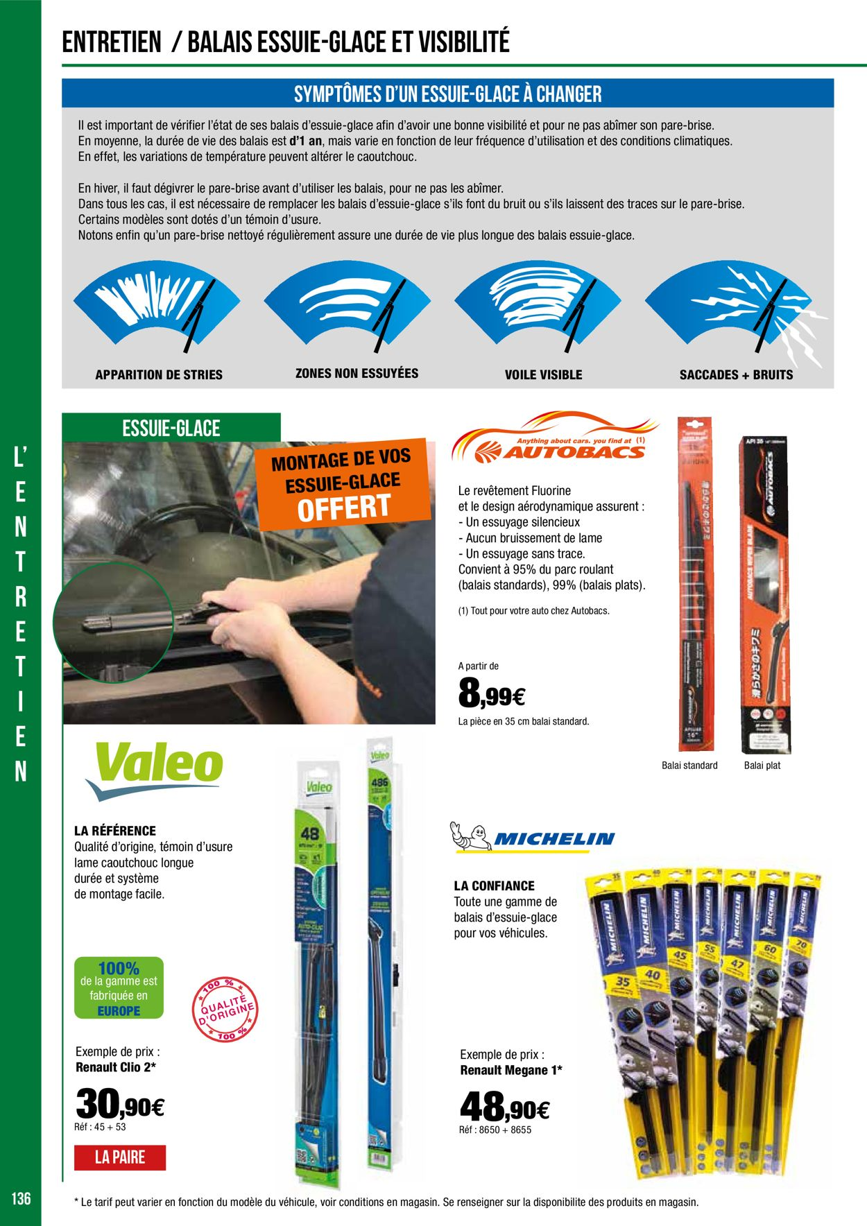 Autobacs Catalogue Hiver 2020/2021 Catalogue - 16.12-31.12.2020 (Page 136)