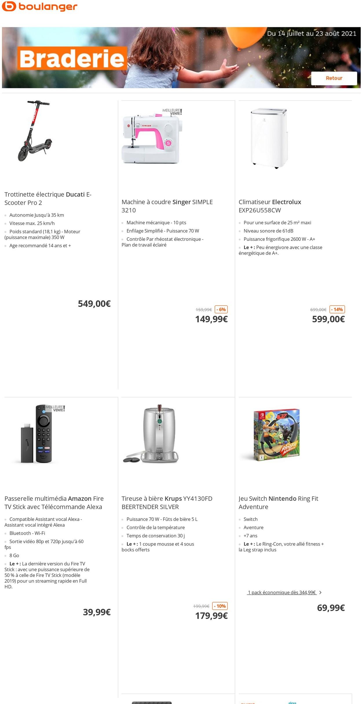 Boulanger Catalogue - 14.07-23.08.2021 (Page 7)