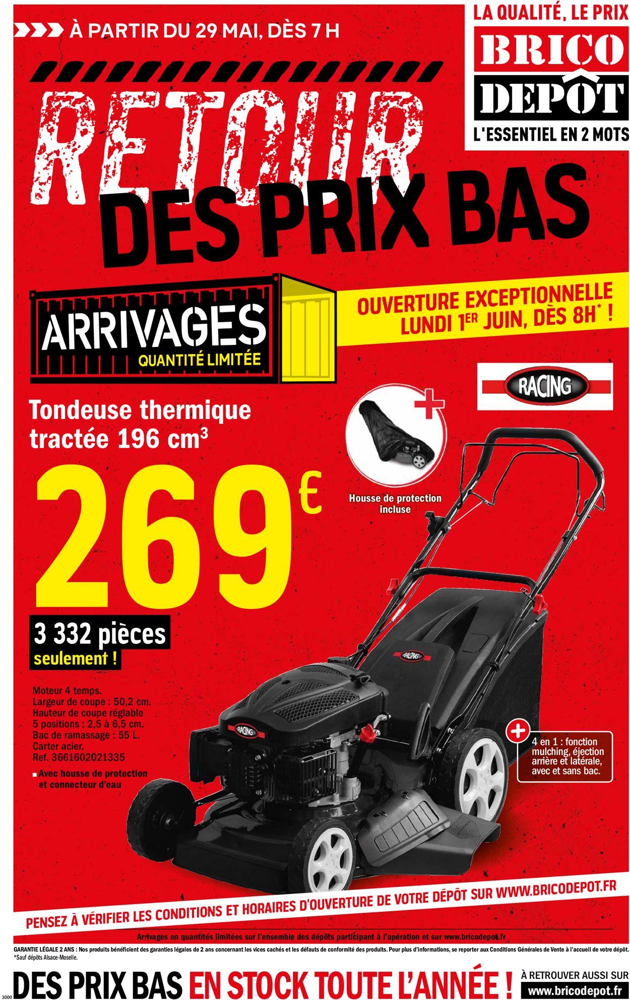 Brico Dépôt Catalogue - 29.05-30.06.2020