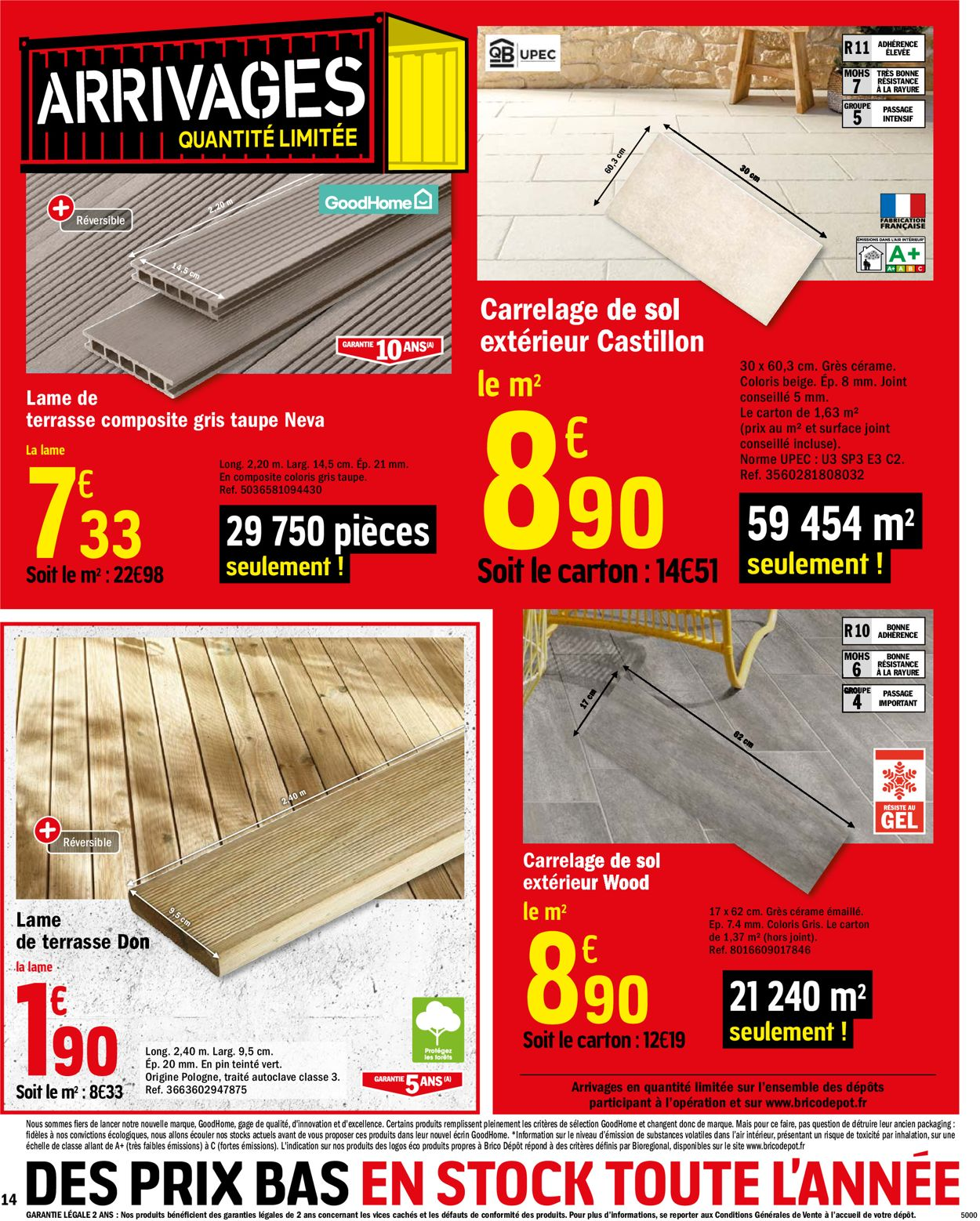 Brico Dépôt Catalogue - 03.07-23.07.2020 (Page 14)