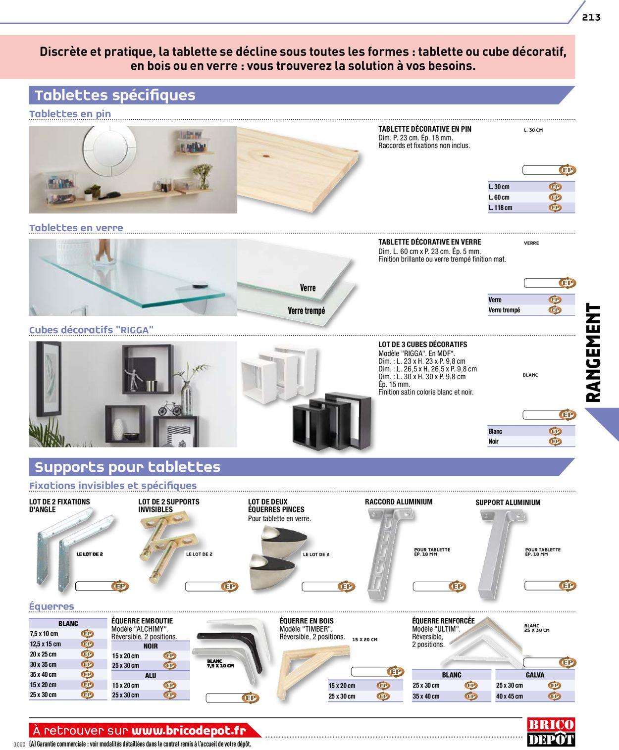 Brico Dépôt Catalogue - 20.08-03.03.2021 (Page 213)