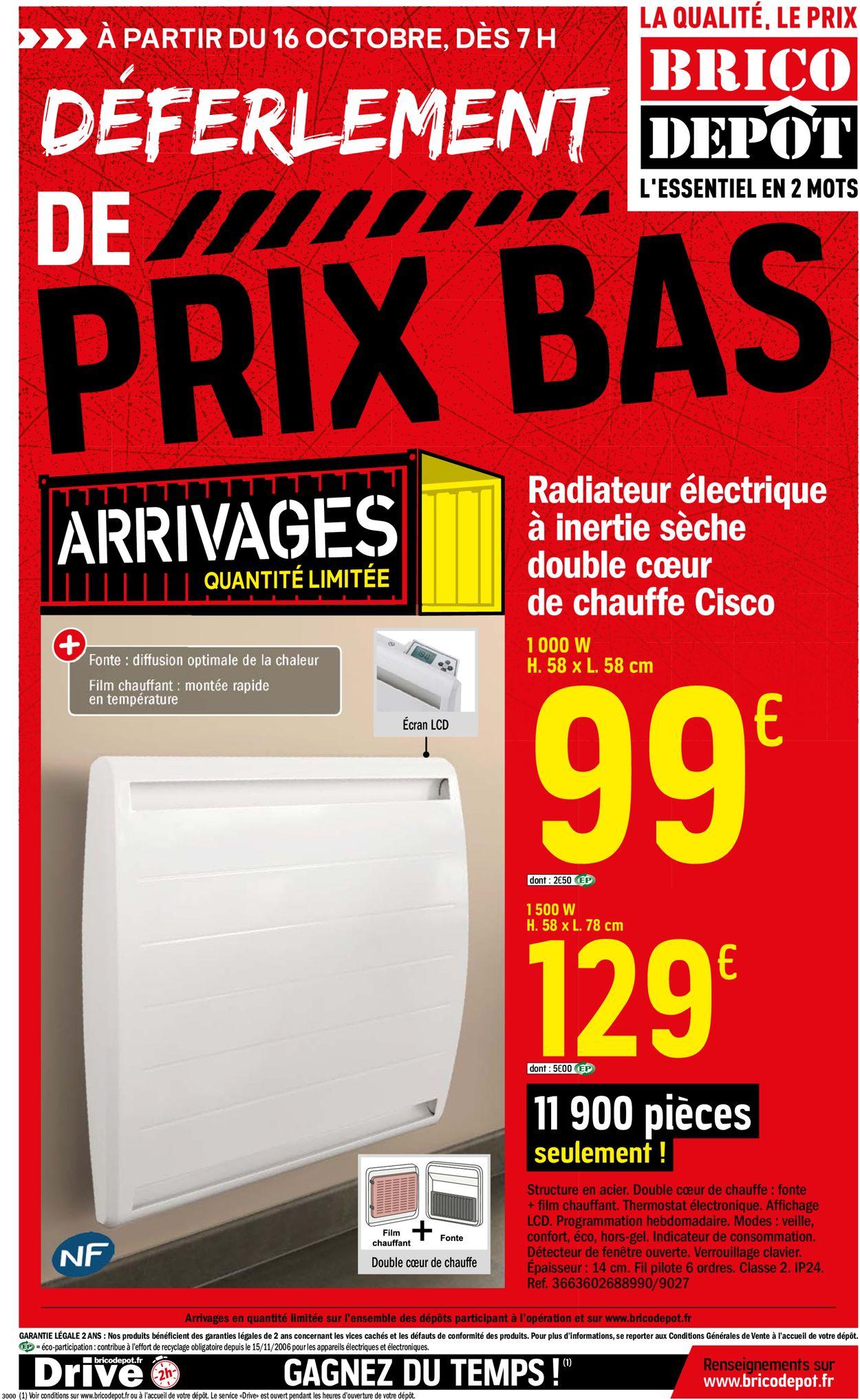 Brico Dépôt Catalogue - 16.10-29.10.2020