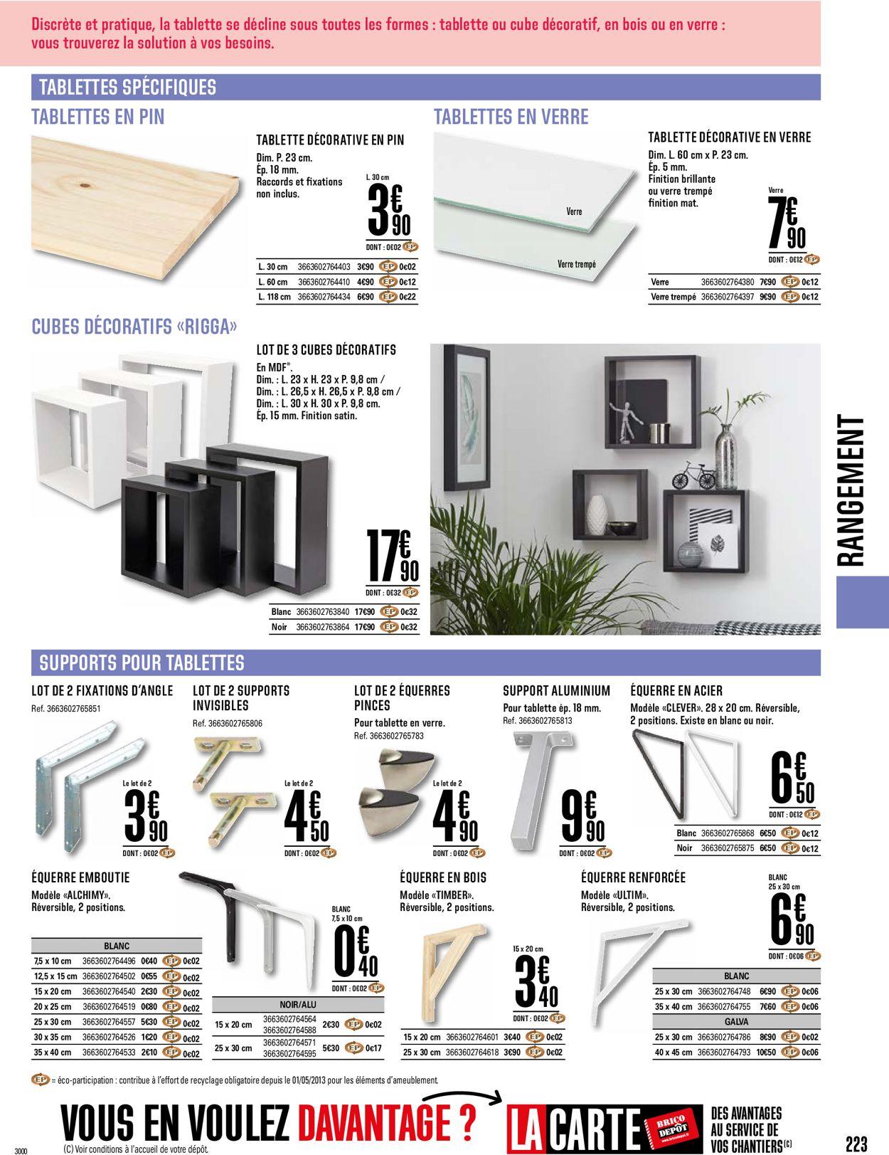 Brico Dépôt Catalogue - 19.03-30.04.2021 (Page 223)