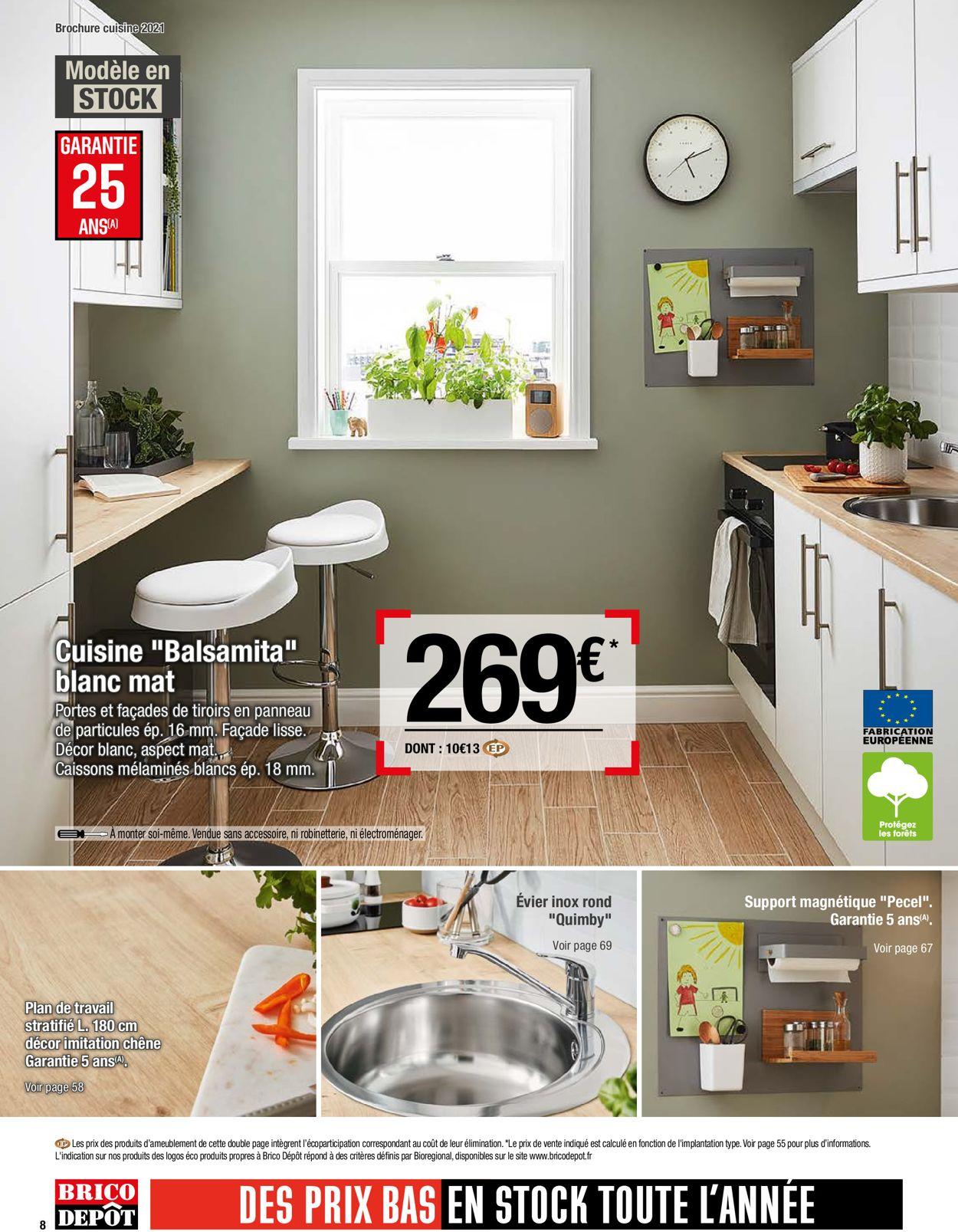 Brico Dépôt Catalogue - 26.03-30.04.2021 (Page 8)