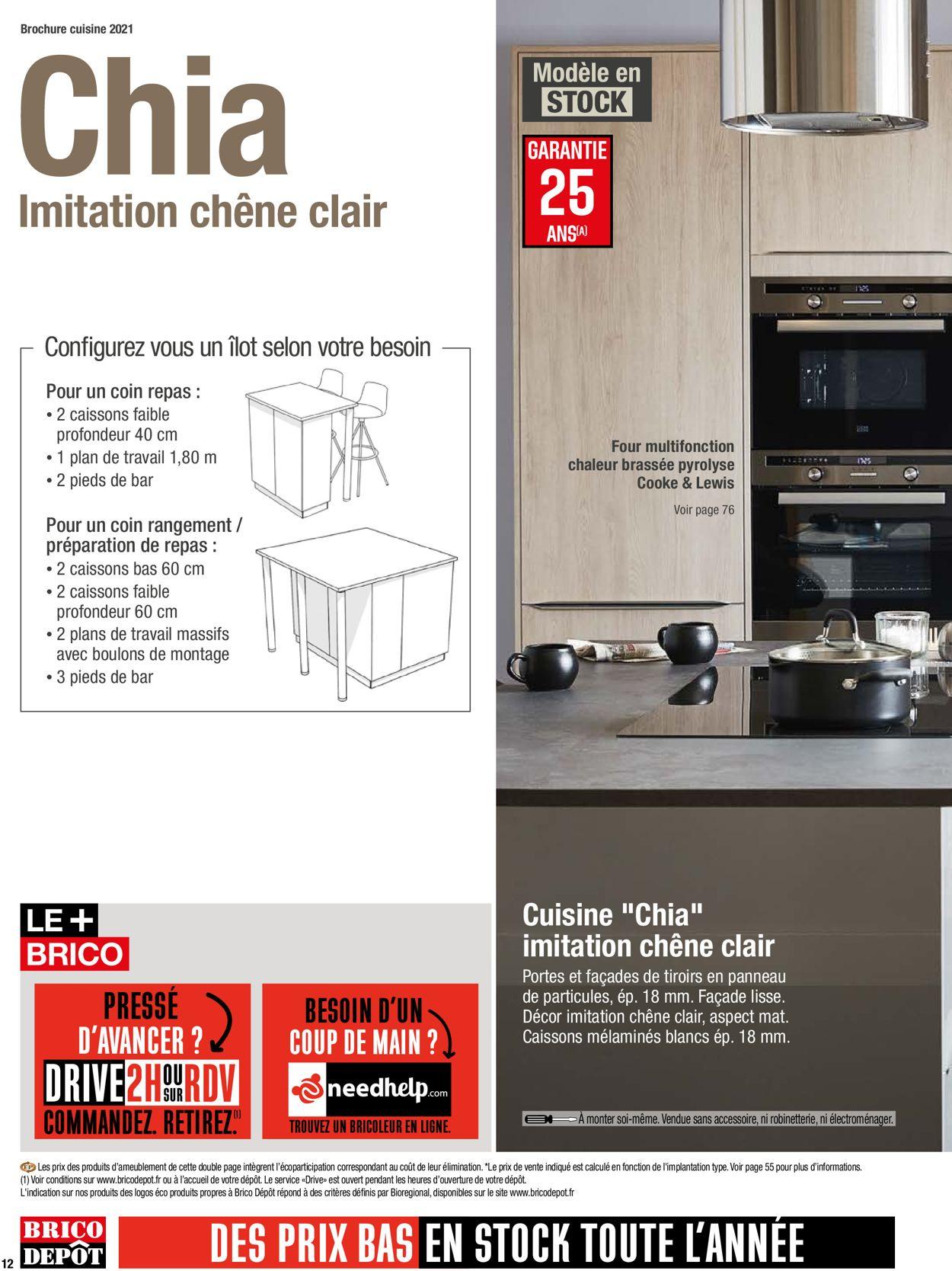 Brico Dépôt Catalogue - 26.03-30.04.2021 (Page 12)
