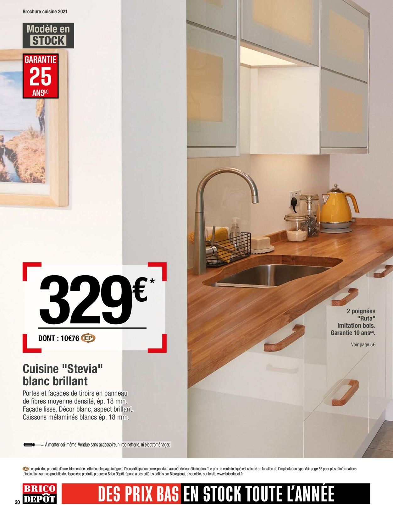 Brico Dépôt Catalogue - 26.03-30.04.2021 (Page 20)