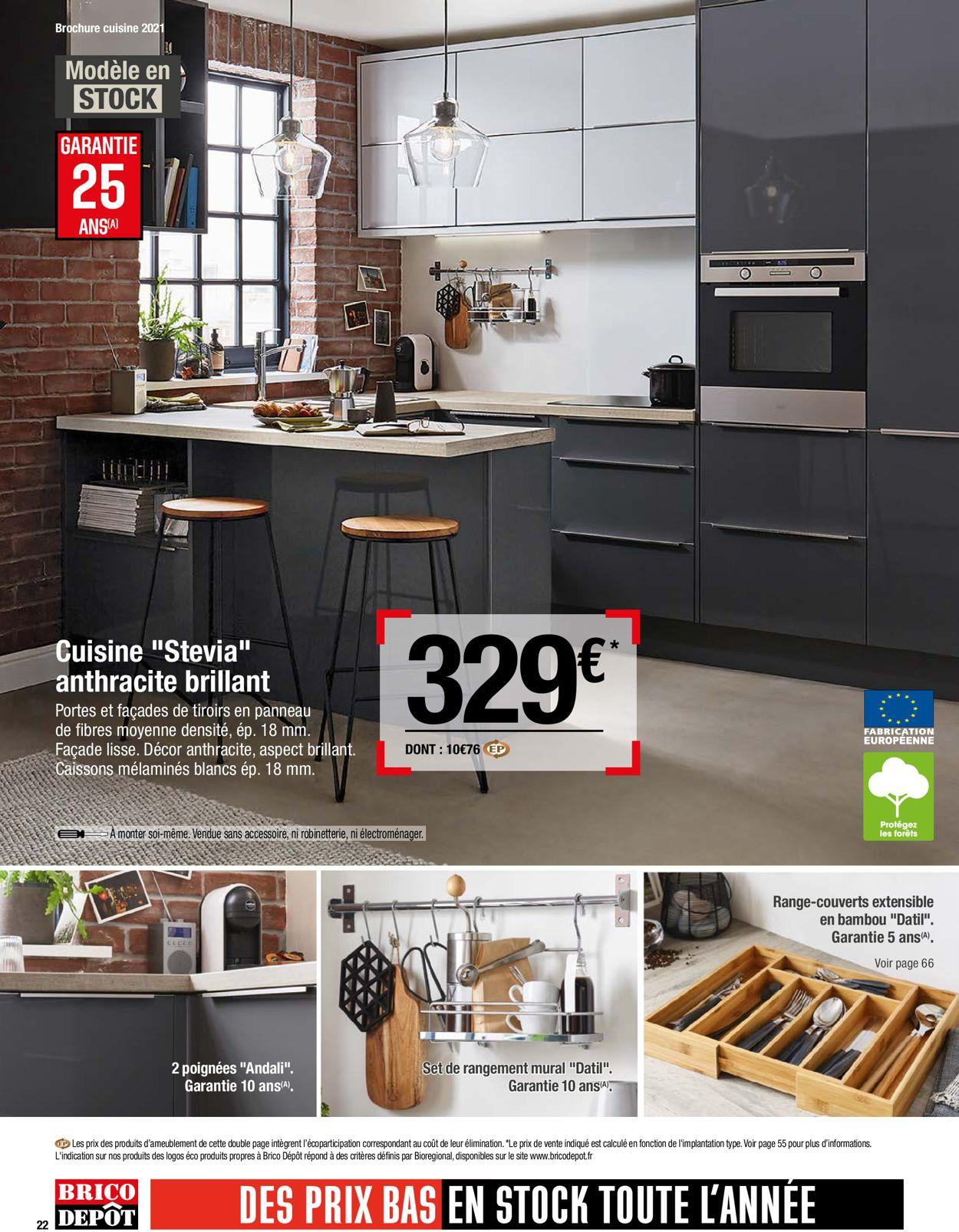 Brico Dépôt Catalogue - 26.03-30.04.2021 (Page 22)