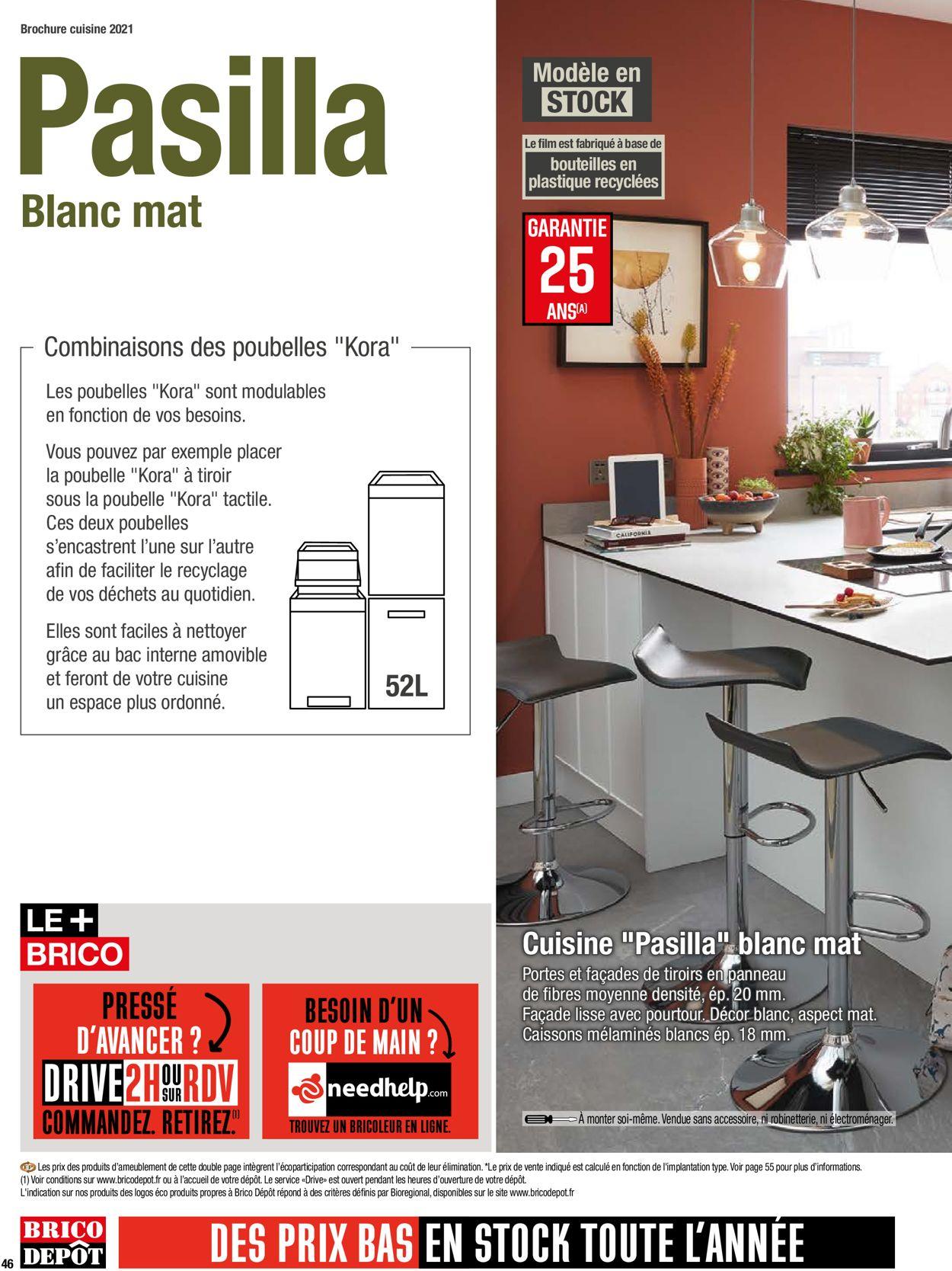 Brico Dépôt Catalogue - 26.03-30.04.2021 (Page 46)