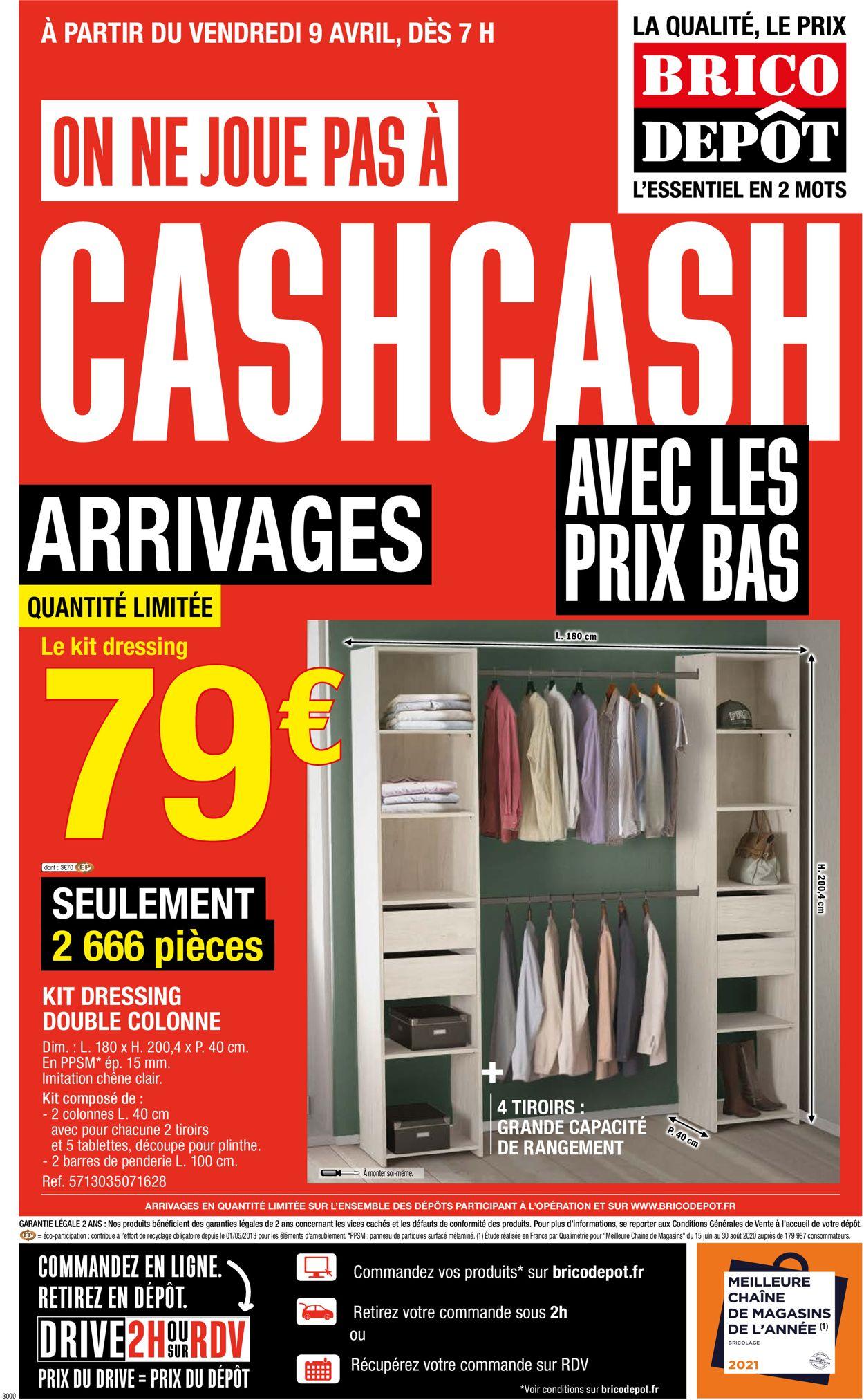 Brico Dépôt Catalogue - 09.04-24.04.2021
