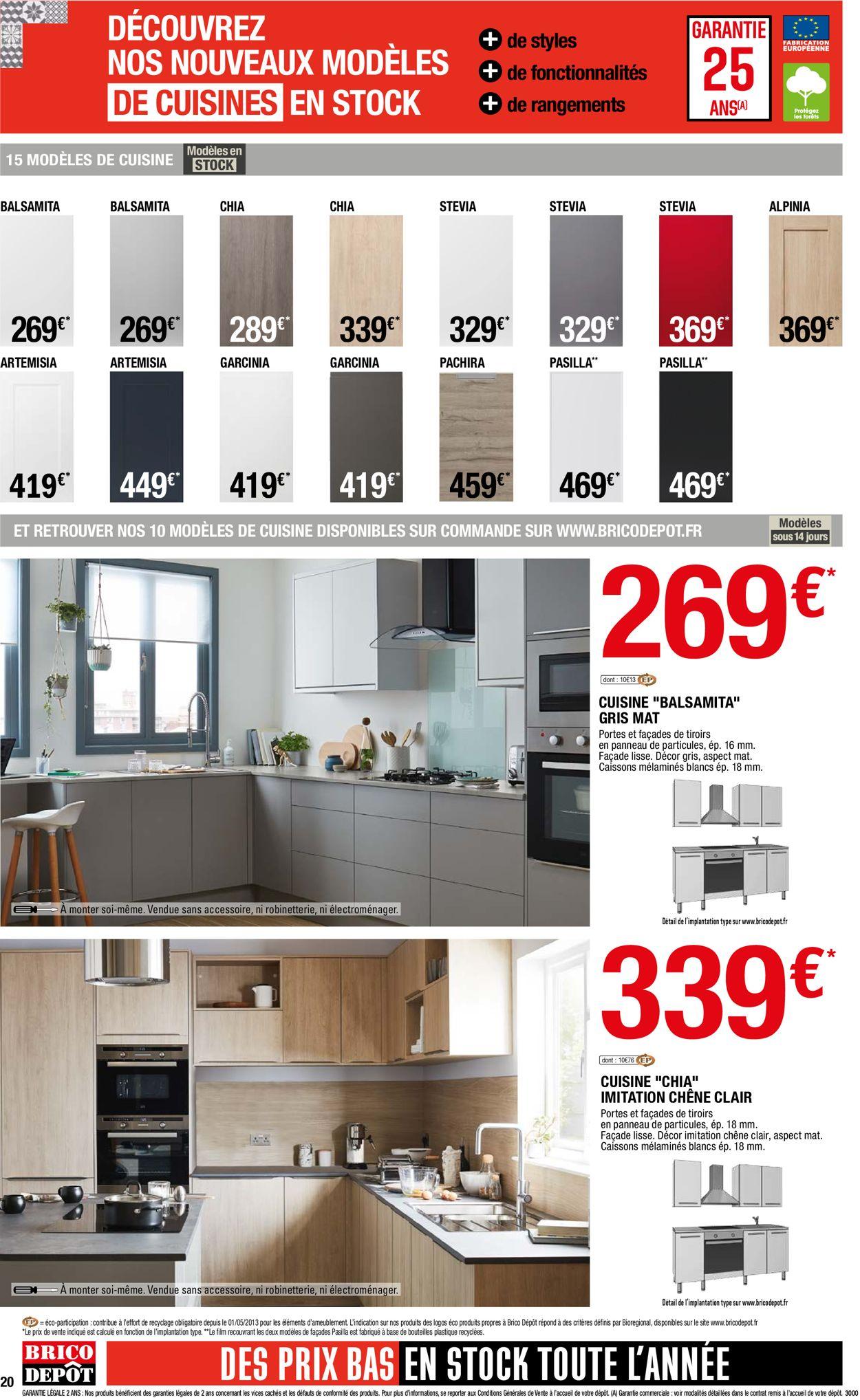 Brico Dépôt Catalogue - 30.04-11.05.2021 (Page 20)