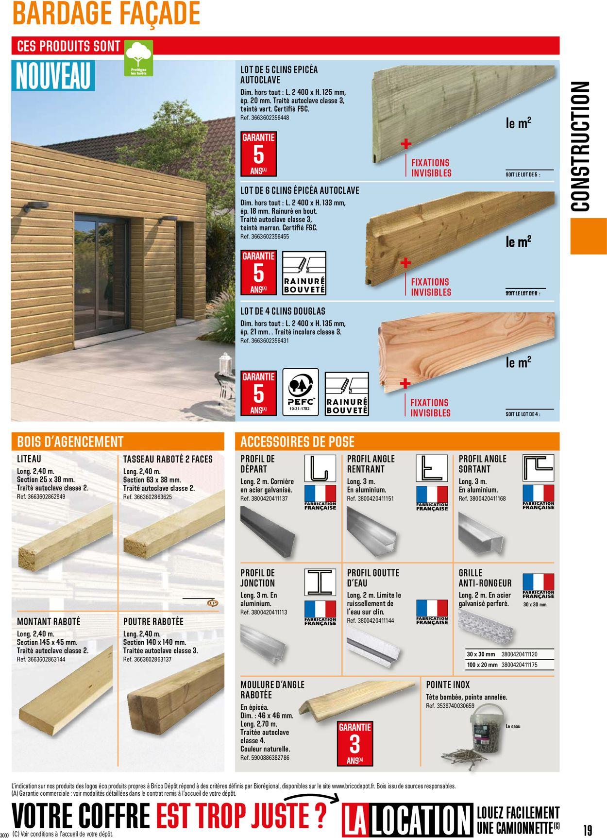 Brico Dépôt Catalogue - 01.05-31.12.2021 (Page 19)