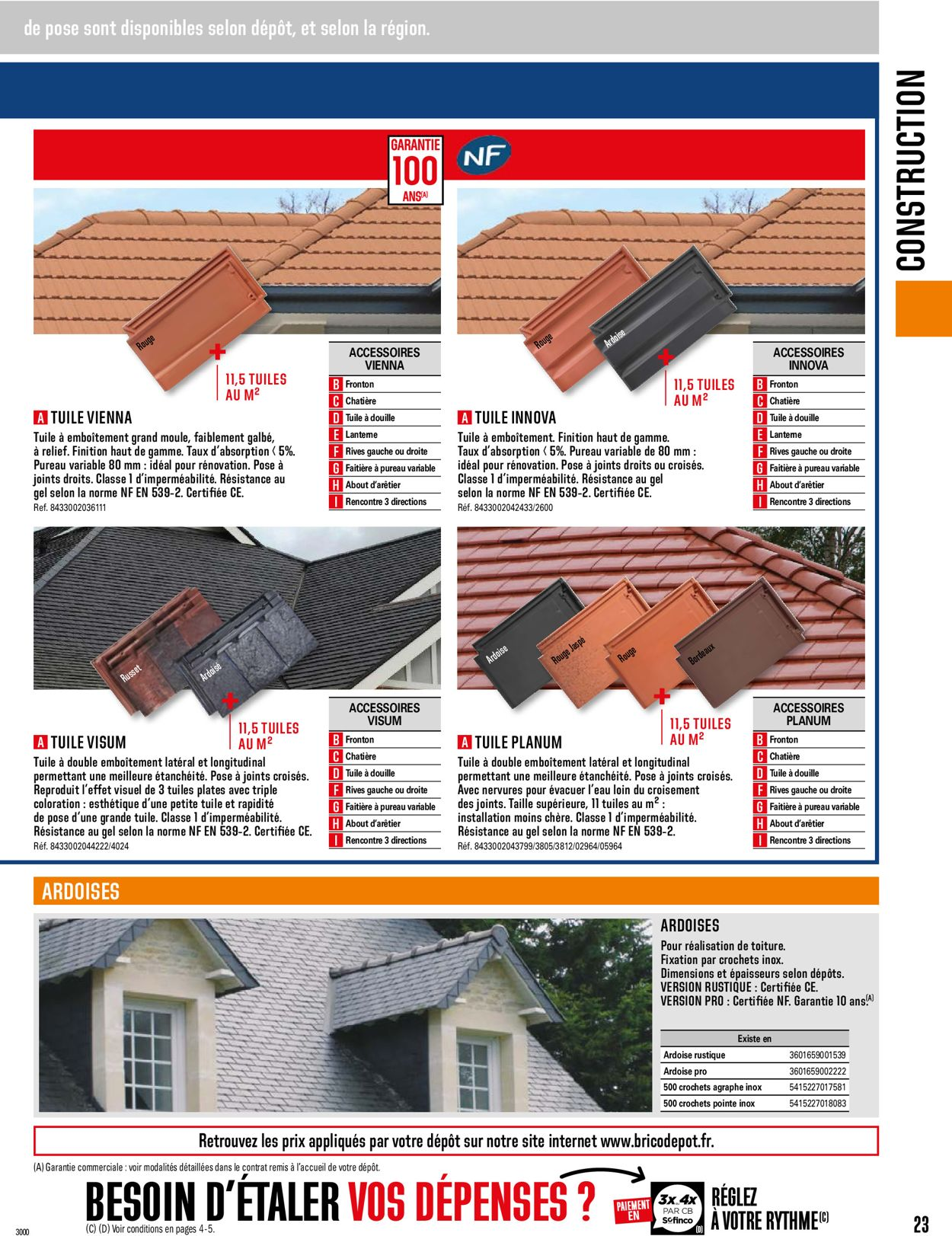 Brico Dépôt Catalogue - 01.05-31.12.2021 (Page 23)