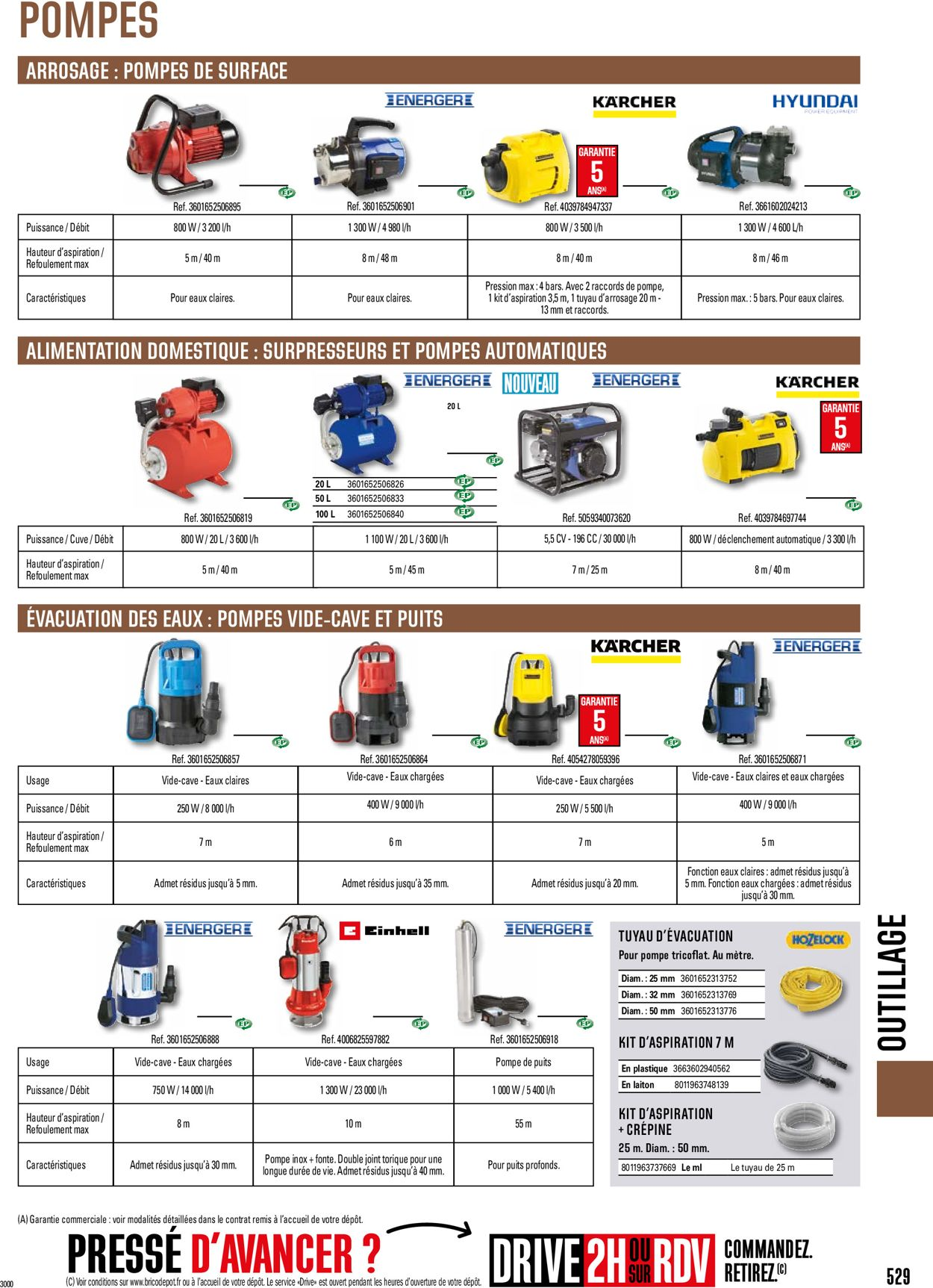 Brico Dépôt Catalogue - 01.05-31.12.2021 (Page 529)