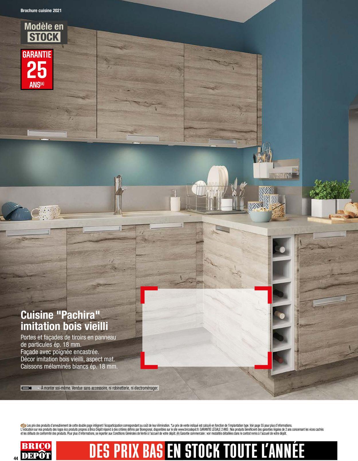 Brico Dépôt Catalogue - 26.03-30.06.2021 (Page 44)