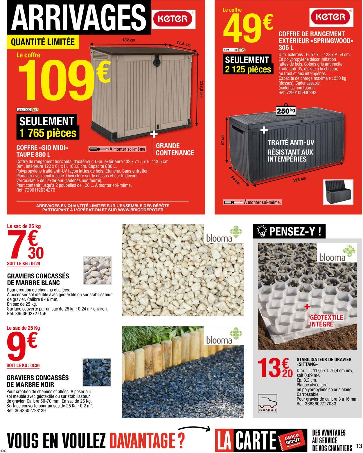 Brico Dépôt Catalogue - 02.07-22.07.2021 (Page 13)