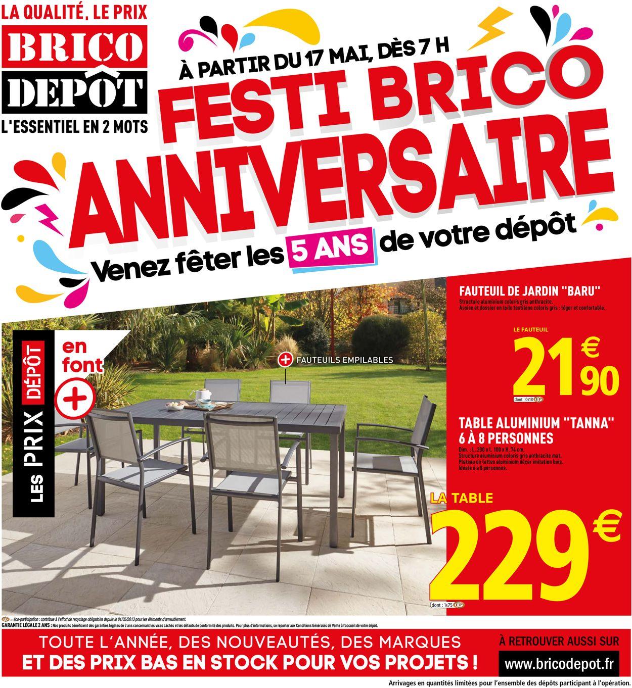 Brico Dépôt Catalogue - 17.05-31.05.2019