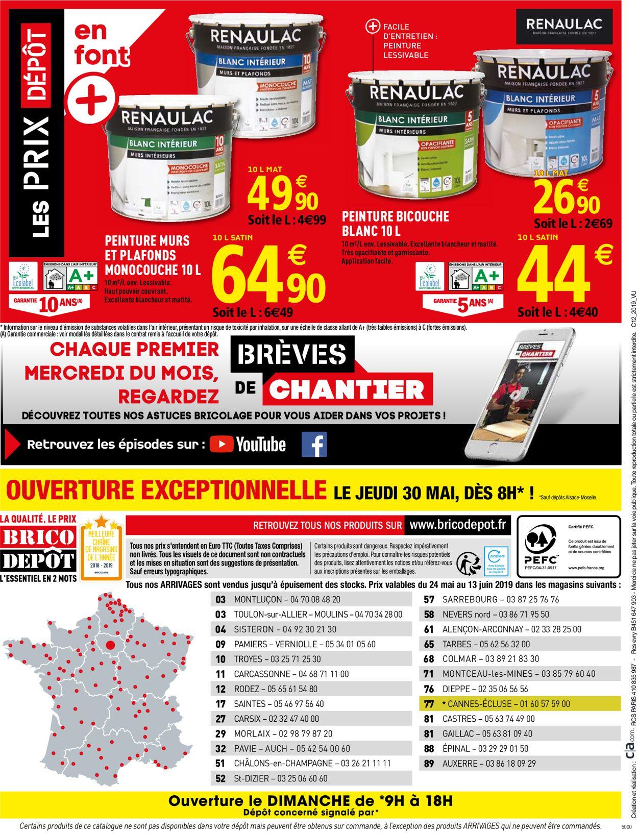 Brico Dépôt Catalogue - 24.05-13.06.2019 (Page 32)