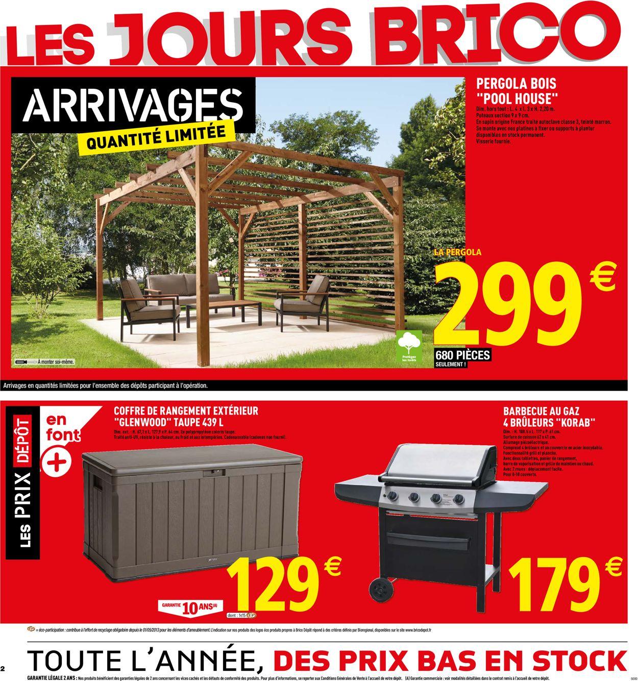 Brico Dépôt Catalogue - 29.05-13.06.2019 (Page 2)