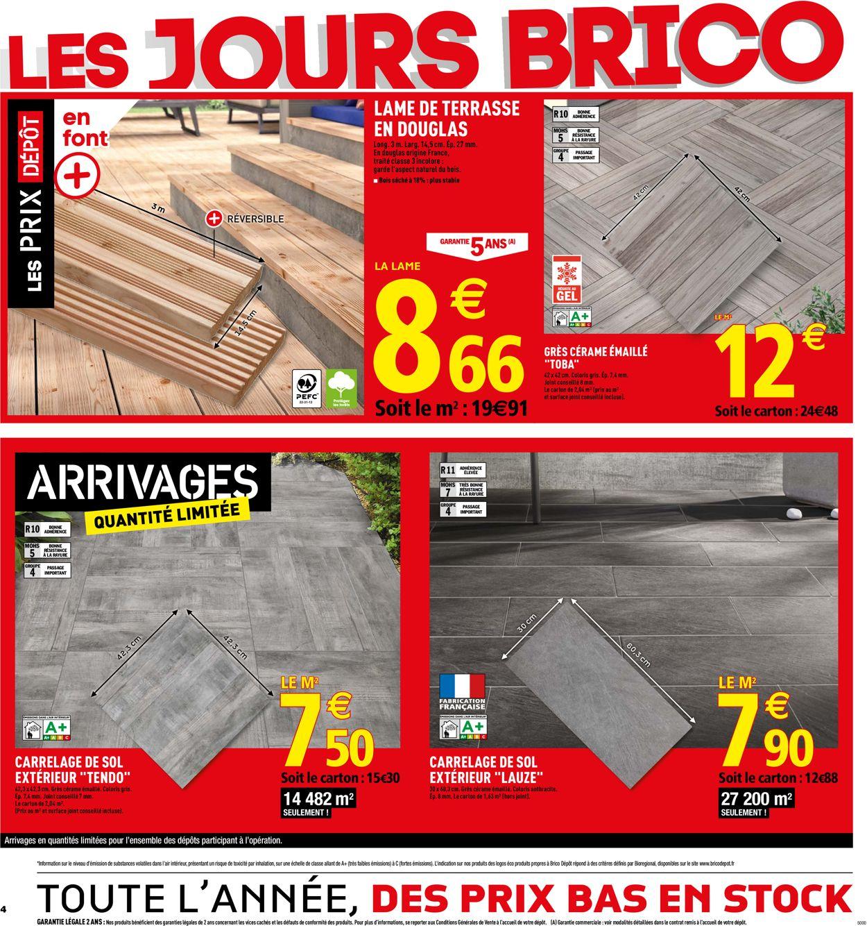 Brico Dépôt Catalogue - 29.05-13.06.2019 (Page 4)