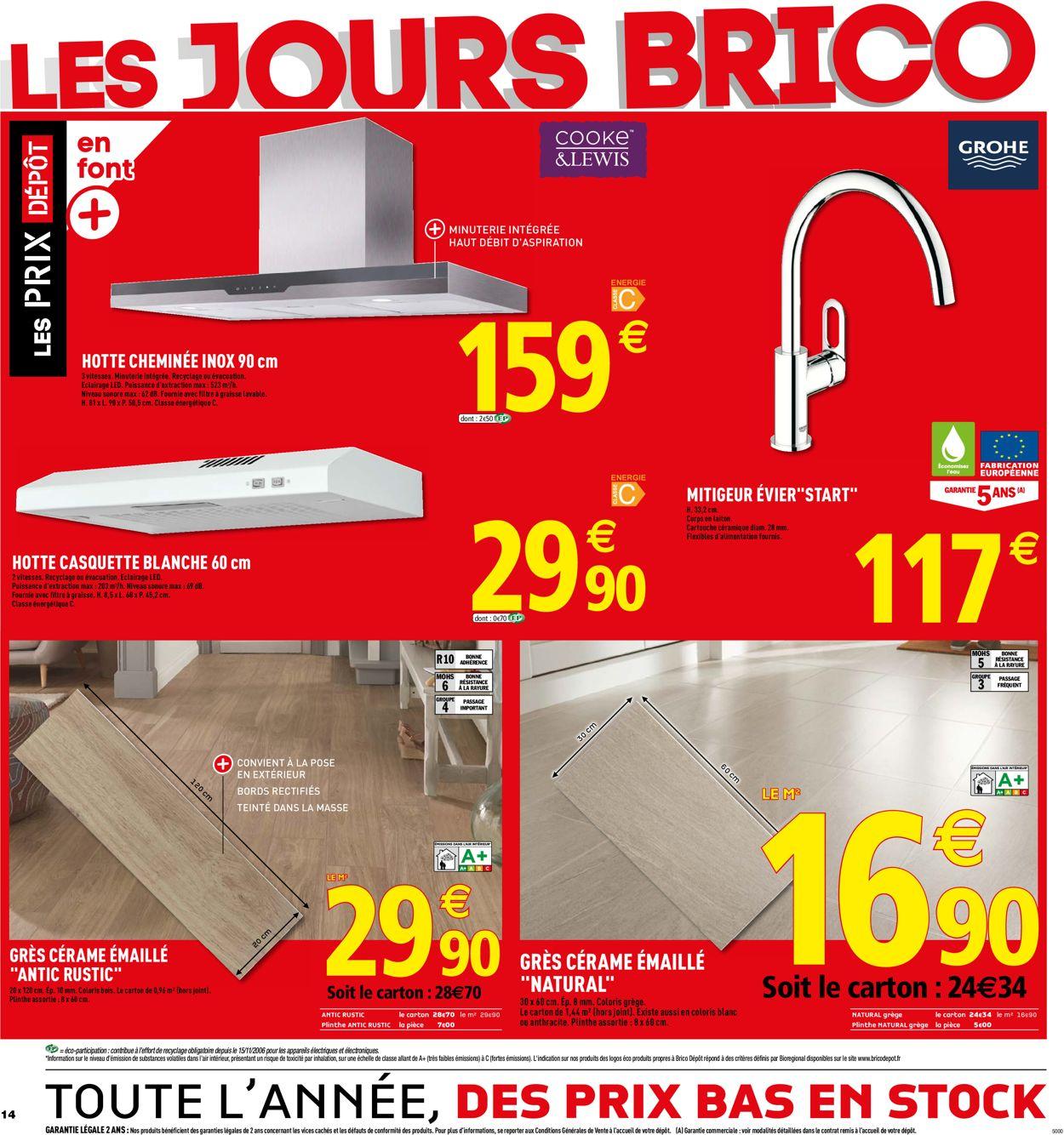 Brico Dépôt Catalogue - 29.05-13.06.2019 (Page 14)